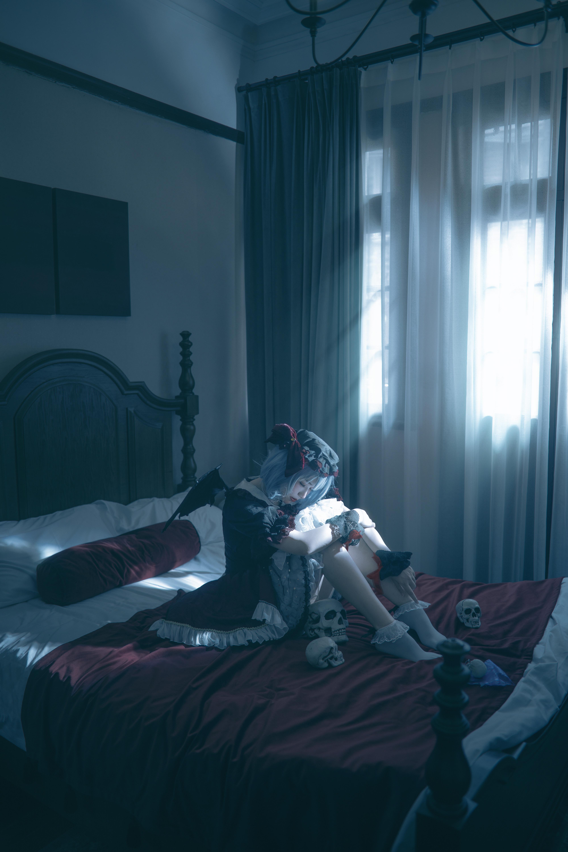 《东方PROJECT》蕾米莉亚cosplay【CN:我是谁你不想知道】-第7张