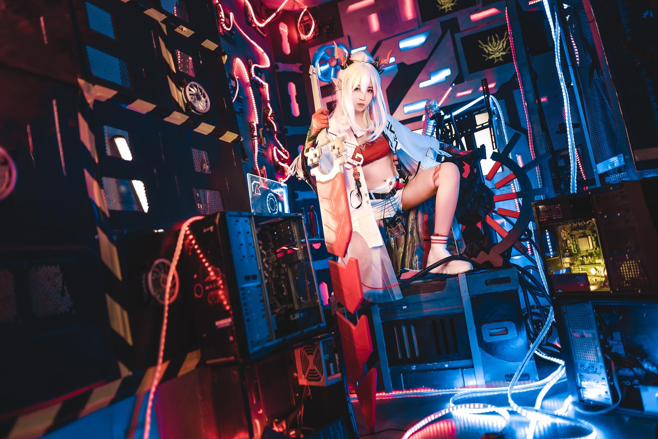 《明日方舟》正片cosplay【CN:明臻Real_】-第8张