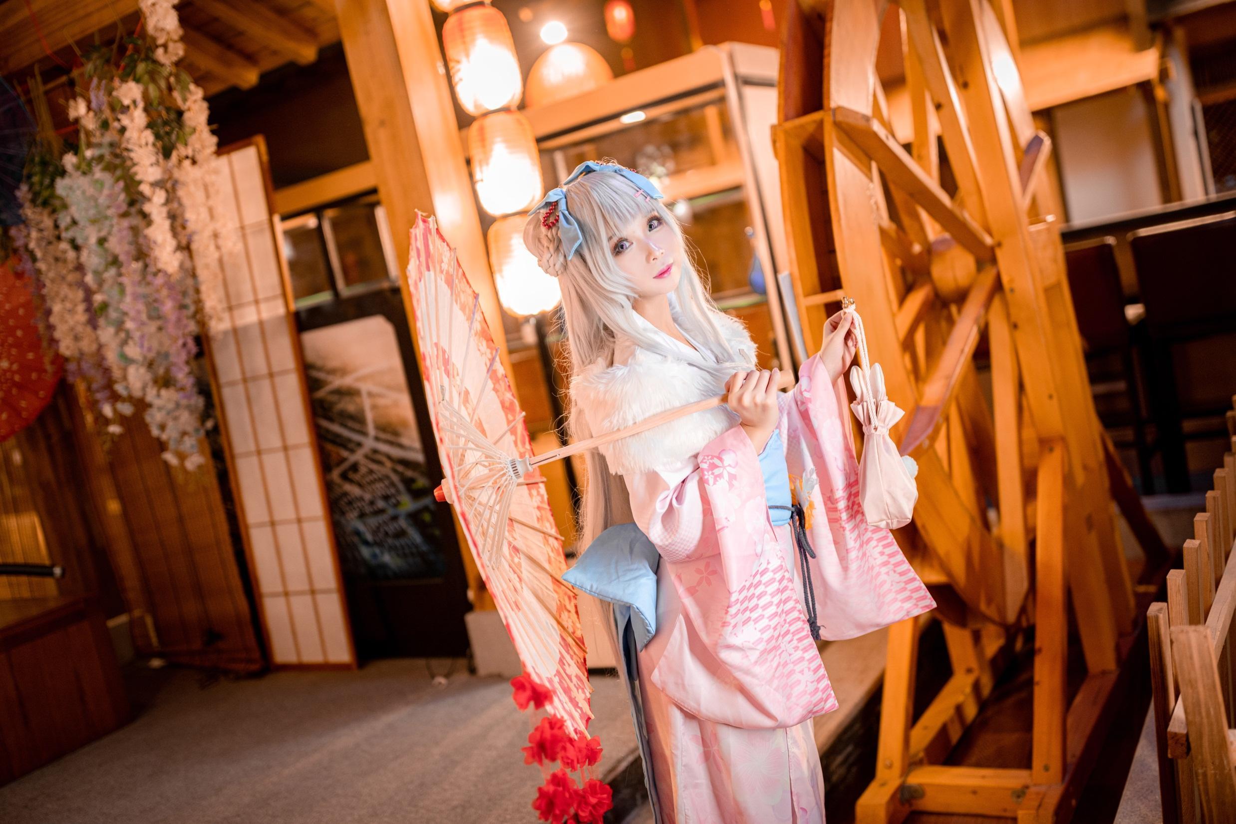 《碧蓝航线》和服cosplay【CN:迷殇】-第9张