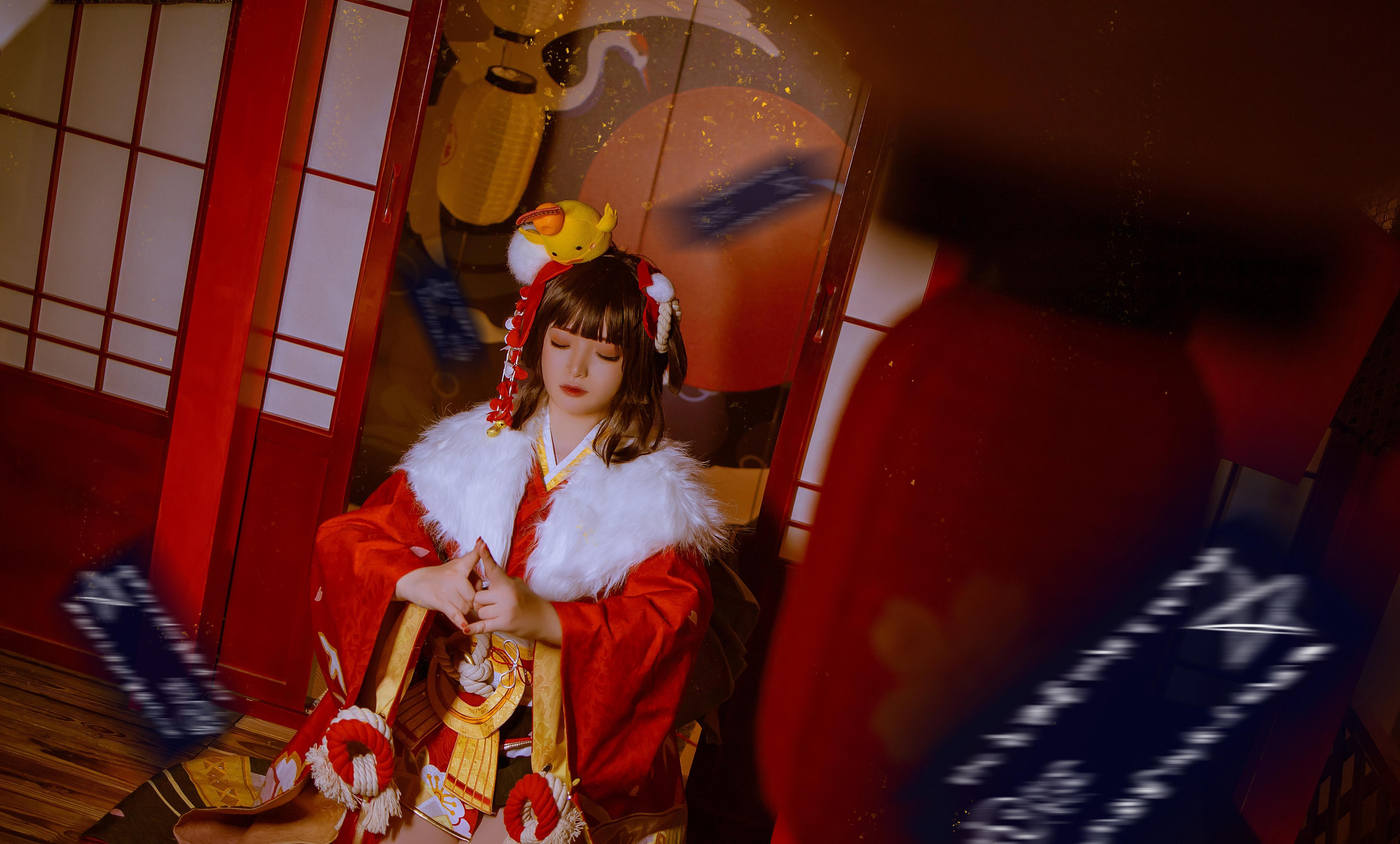 《阴阳师手游》正片cosplay【CN:白貘】-第15张