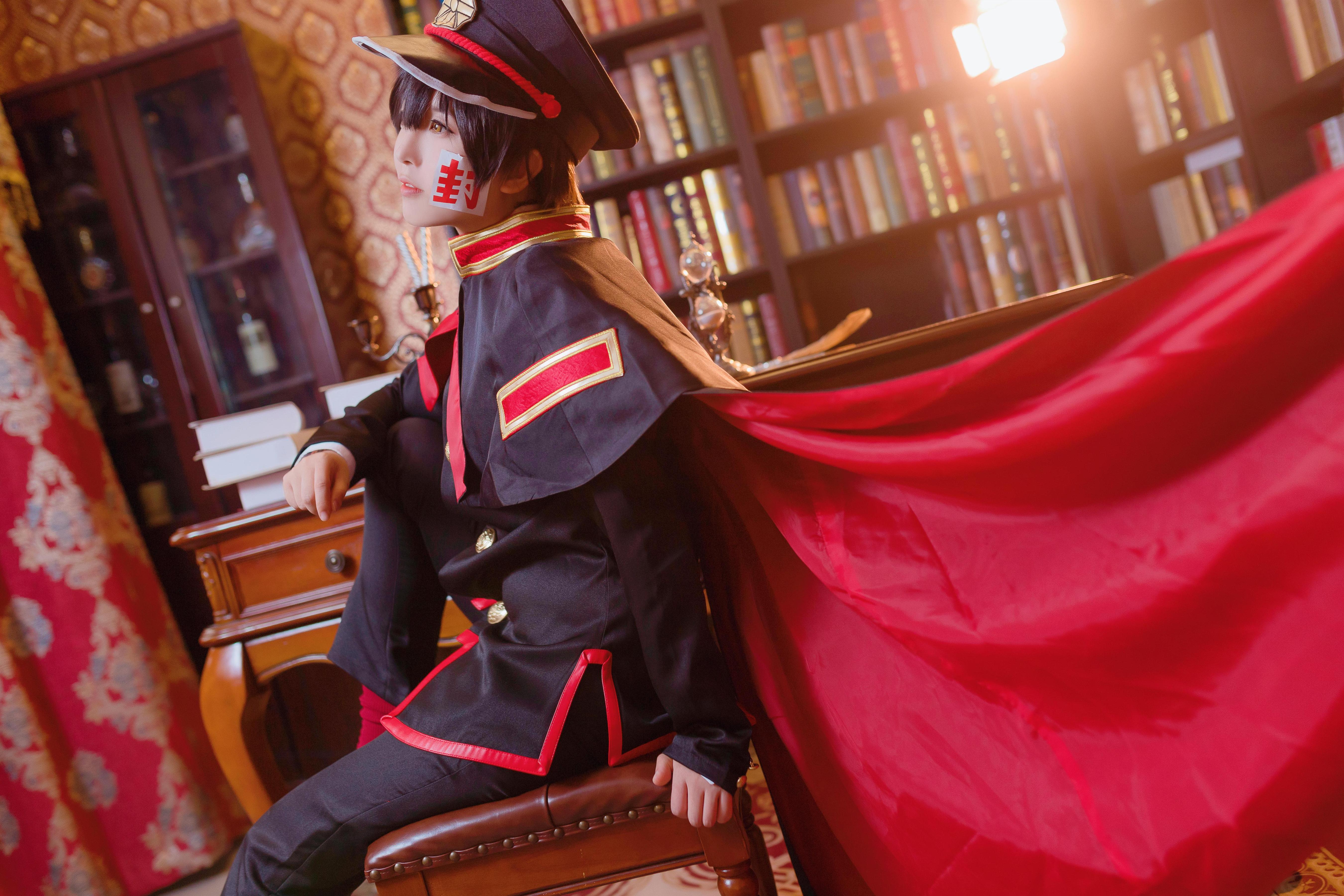 《地缚少年花子君》柚木普cosplay【CN:二糖子】 -名侦探柯南cosplay图片插图