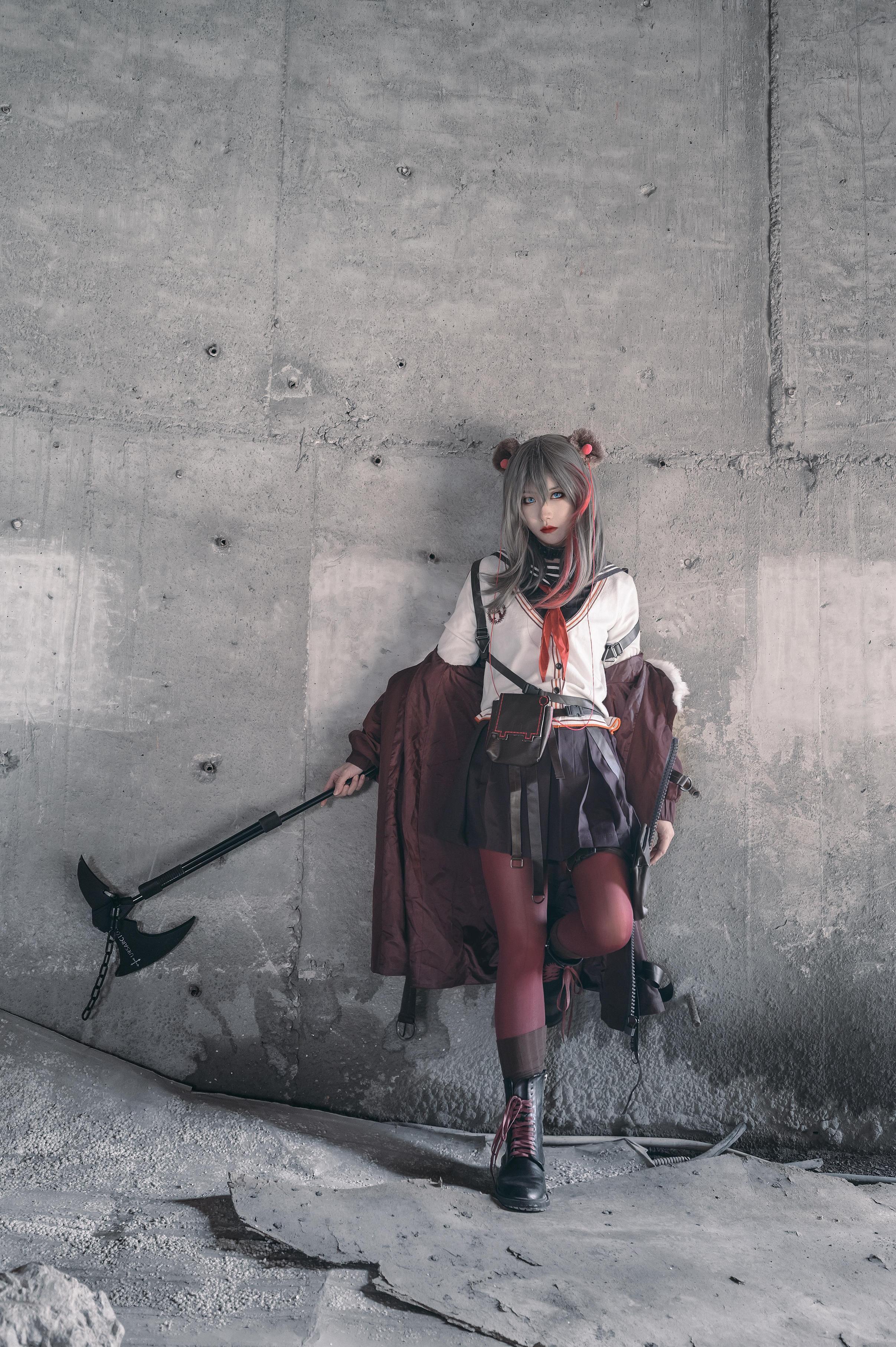 《明日方舟》正片cosplay【CN:小青姑娘闭关修炼中】-第8张