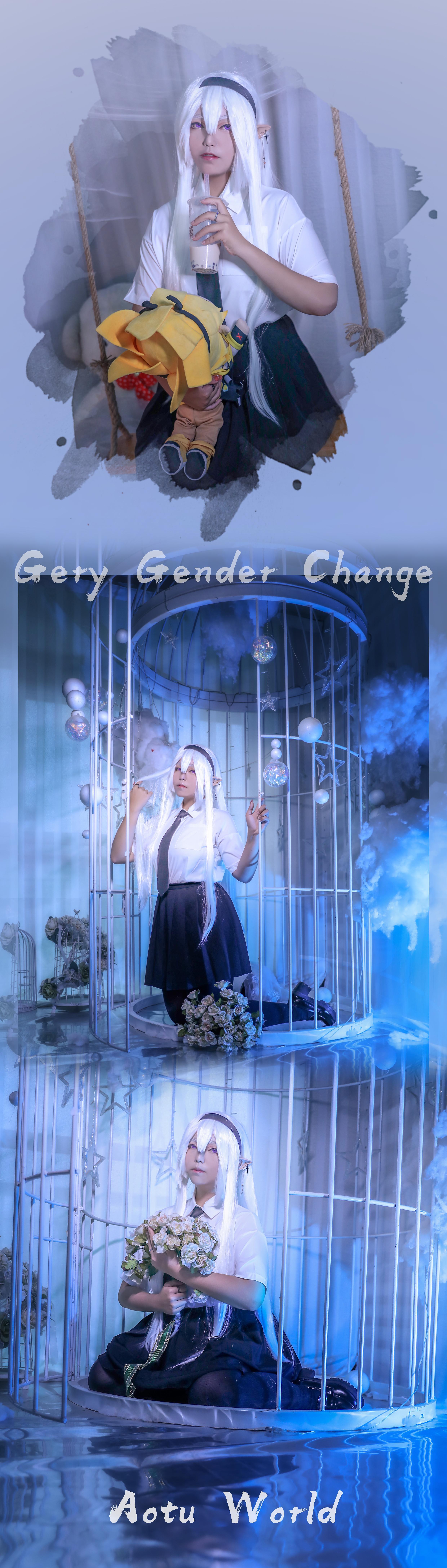 《凹凸世界》格瑞cosplay【CN:YL.沫笙】-第4张