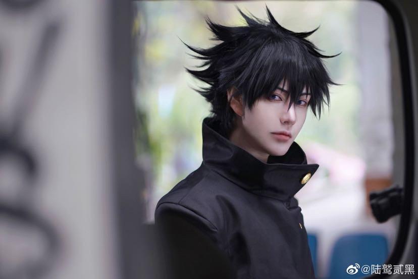 《咒术回战》陆鹫贰黑cosplay-第7张