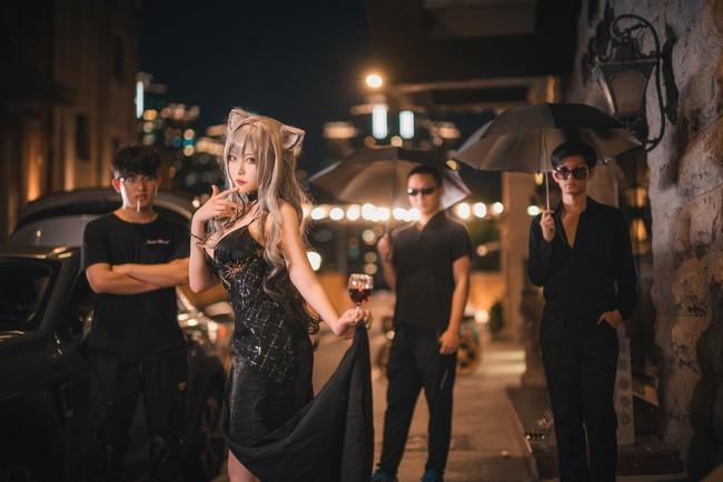 《明日方舟》黑礼服Cosplay【CN:樱岛嗷一】 (8P)-第8张