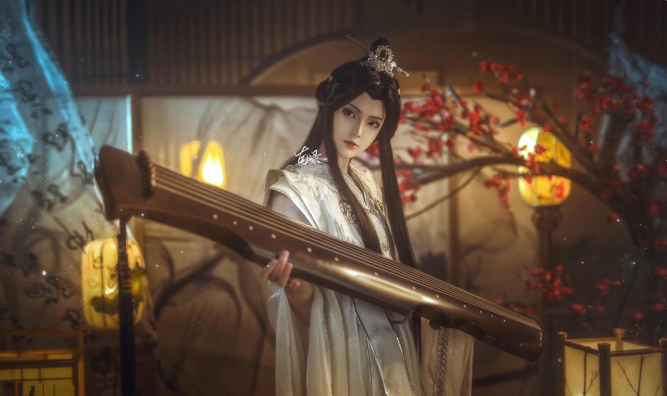 《二哈和他的白猫师尊》正片cosplay【CN:南渌Lin】-第1张