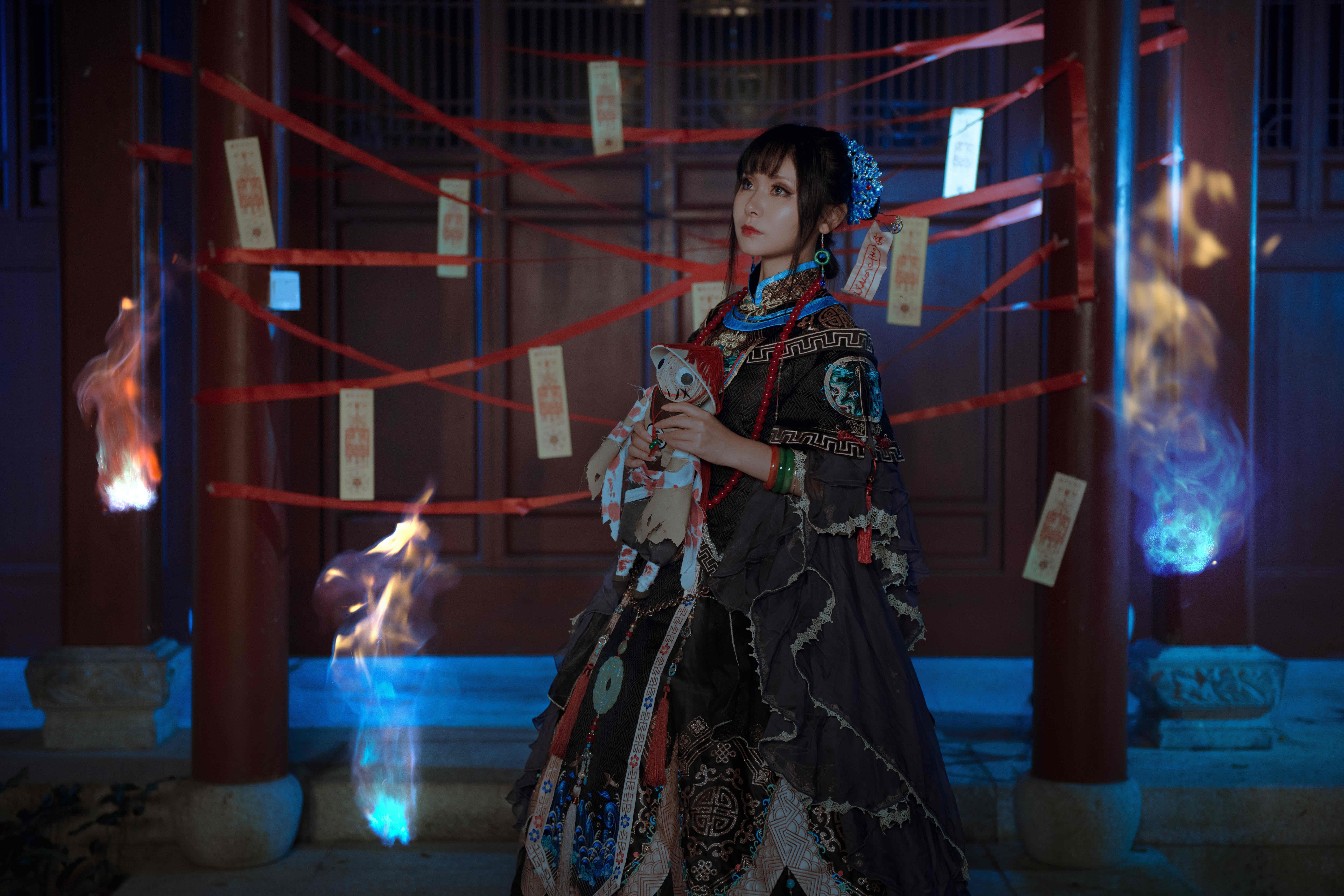《闪耀暖暖》奇迹暖暖cosplay【CN:沐鱼微夏】-第2张