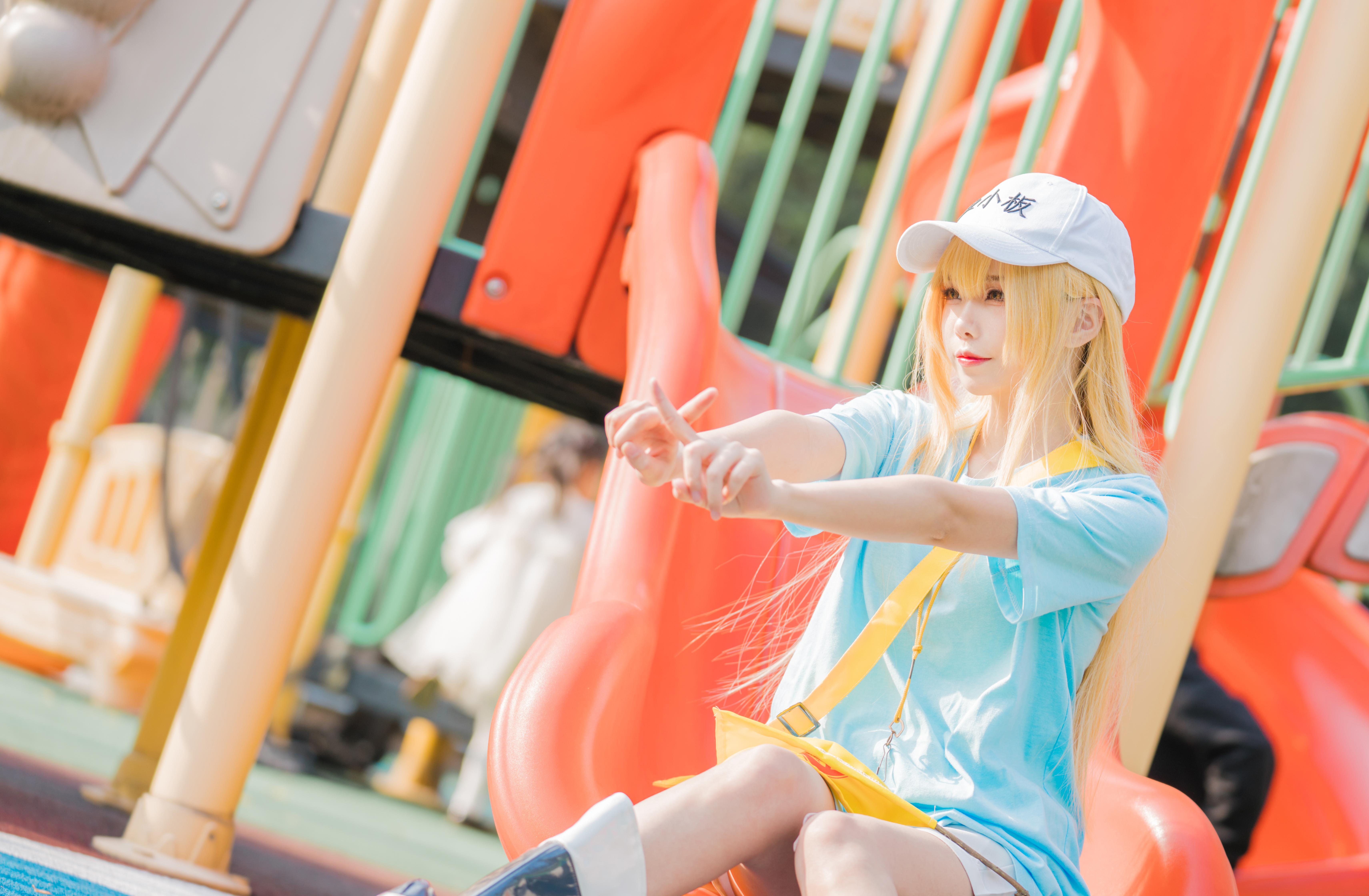 《工作细胞》正片cosplay【CN:伤心屁桃】-第1张
