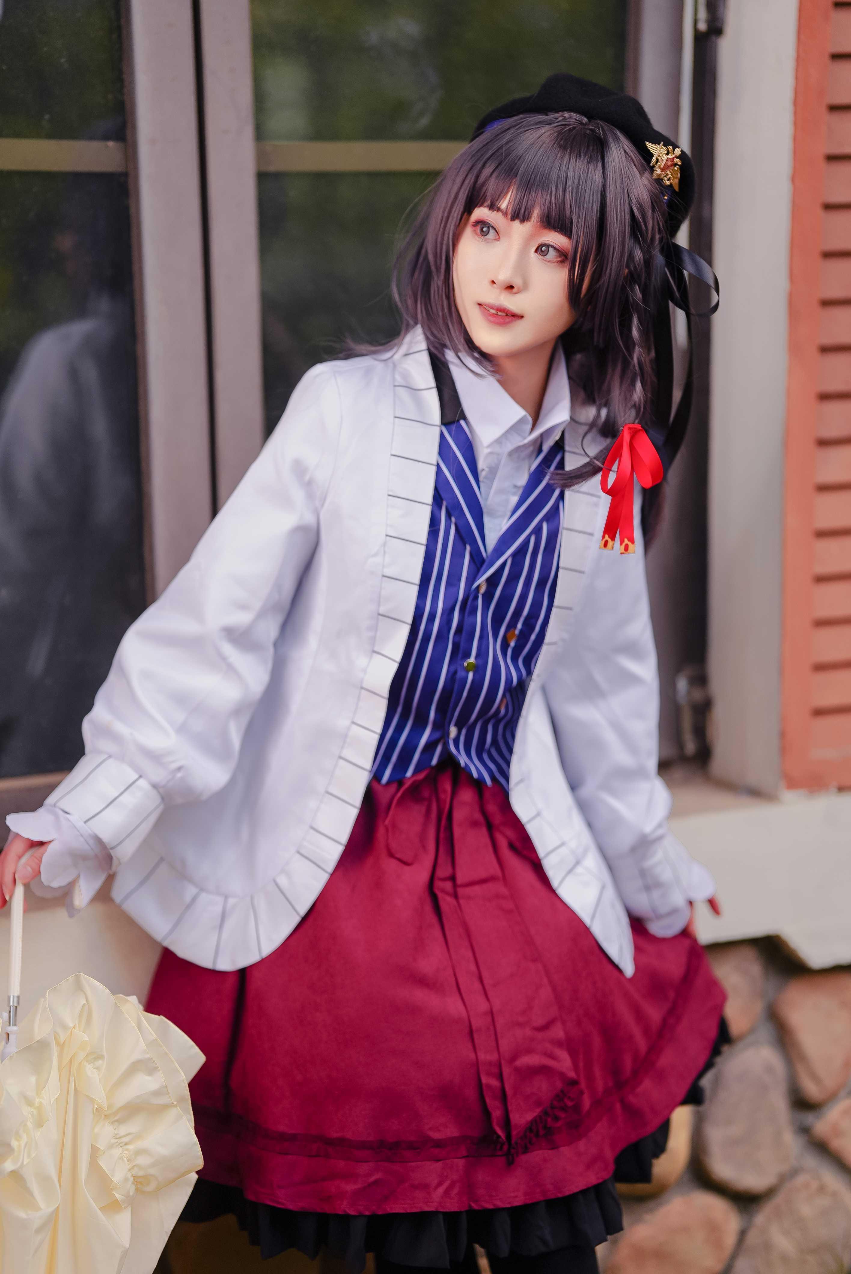 《时空中的绘旅人》正片cosplay【CN:子姬ZJ】-第2张