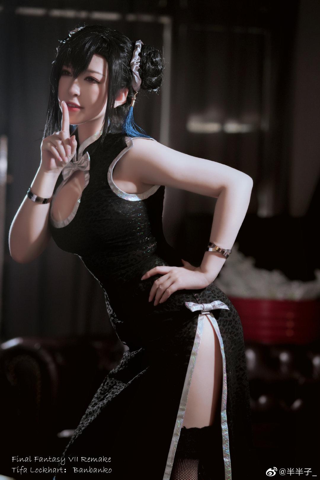 最终幻想7重制版   蒂法·洛克哈特   @半半子_ (9P)-第7张
