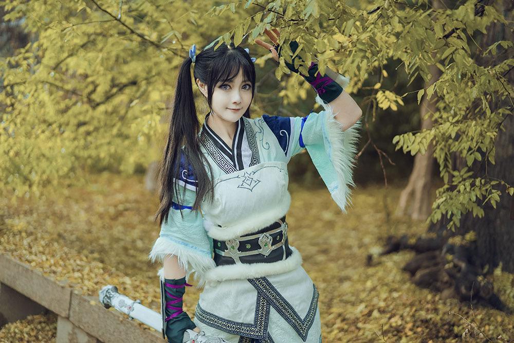 《天涯明月刀OL》游戏cosplay【CN:行云】-第14张
