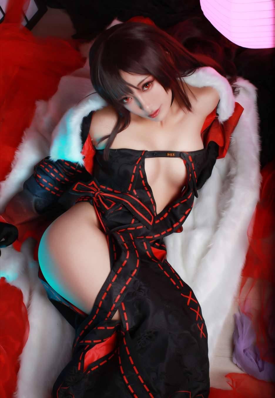 《Fate/GrandOrder》虞美人Cosplay【CN:洛璃LoLiSAMA】 (9P)-第1张
