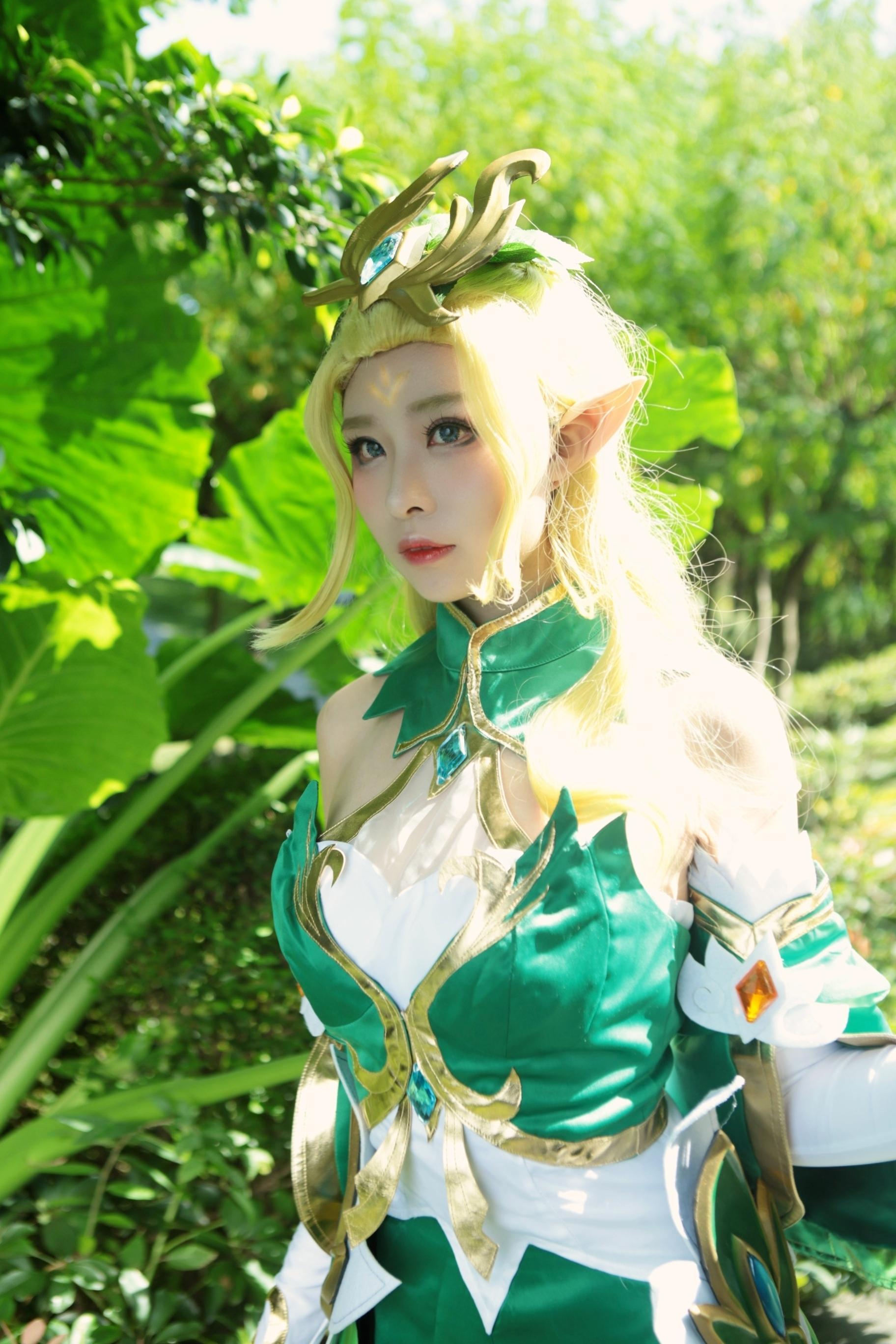《王昭君》游戏cosplay【CN:顾影帘_Queen帘】-第1张