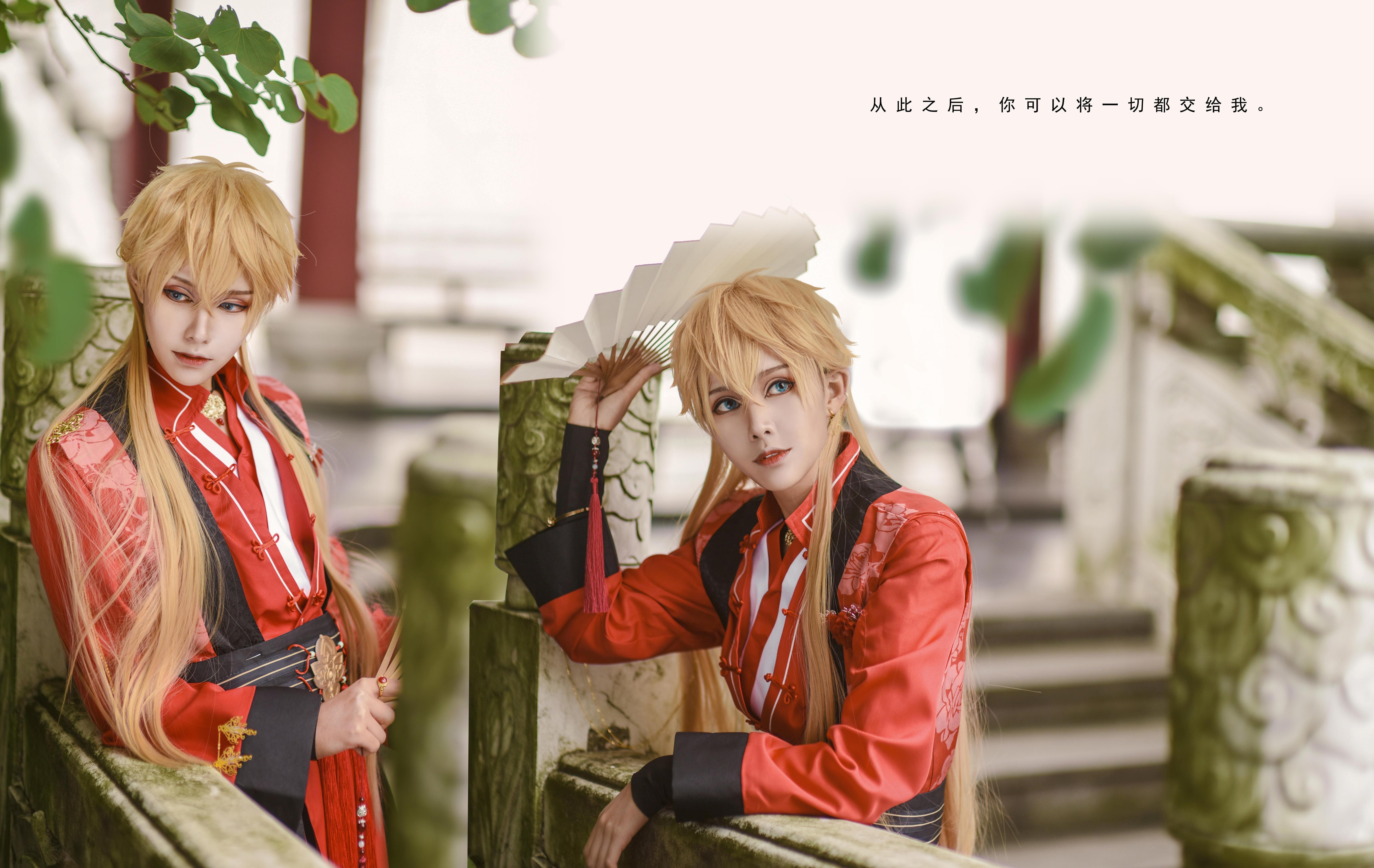 《恋与制作人》周棋洛cosplay【CN:瓜瓜Gu_A】-第3张