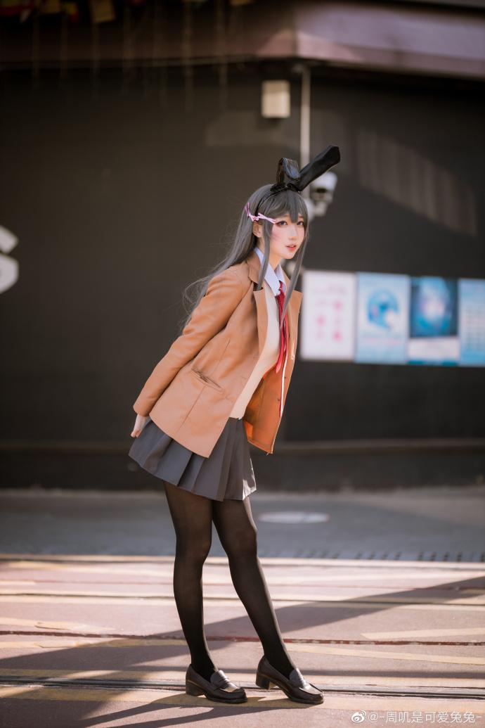 青春猪头少年不会梦到兔女郎学姐   樱岛麻衣   @-周叽是可爱兔兔- (9P)-第8张