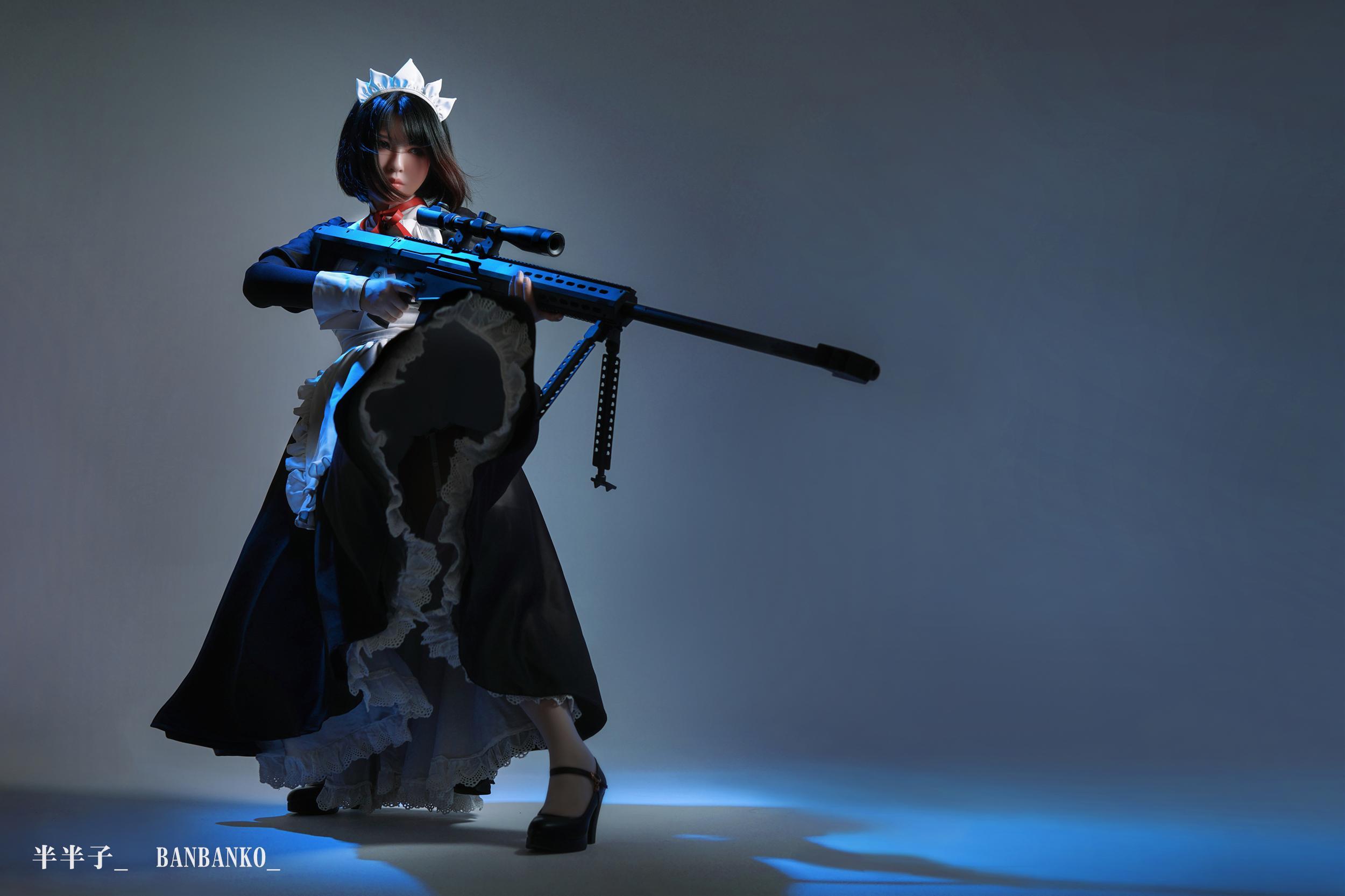 女仆cosplay【CN:半半子】-第3张