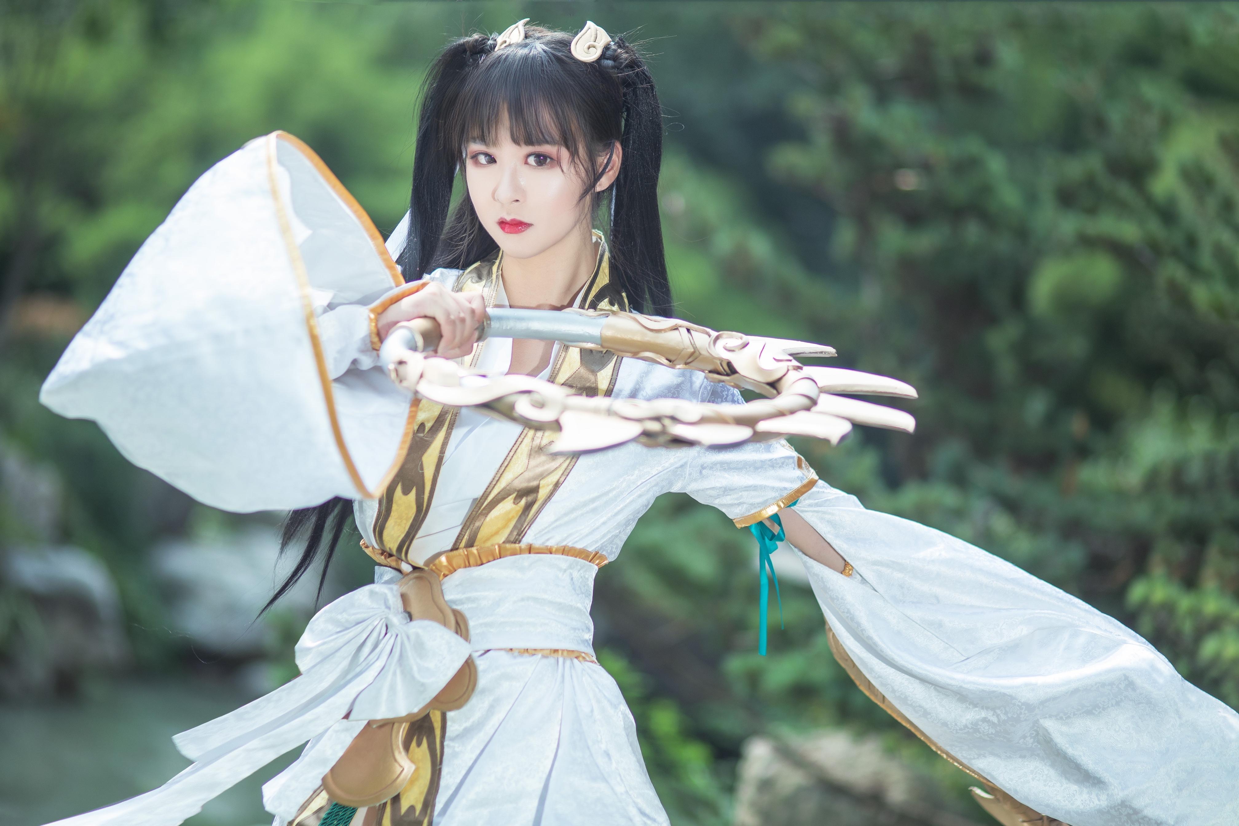 《天涯明月刀OL》古风cosplay【CN:瑶音音】-第5张