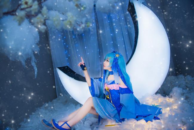 VOCALOID  初音未来  星与雪的公主  cn:蓝裳 (15P)-第3张