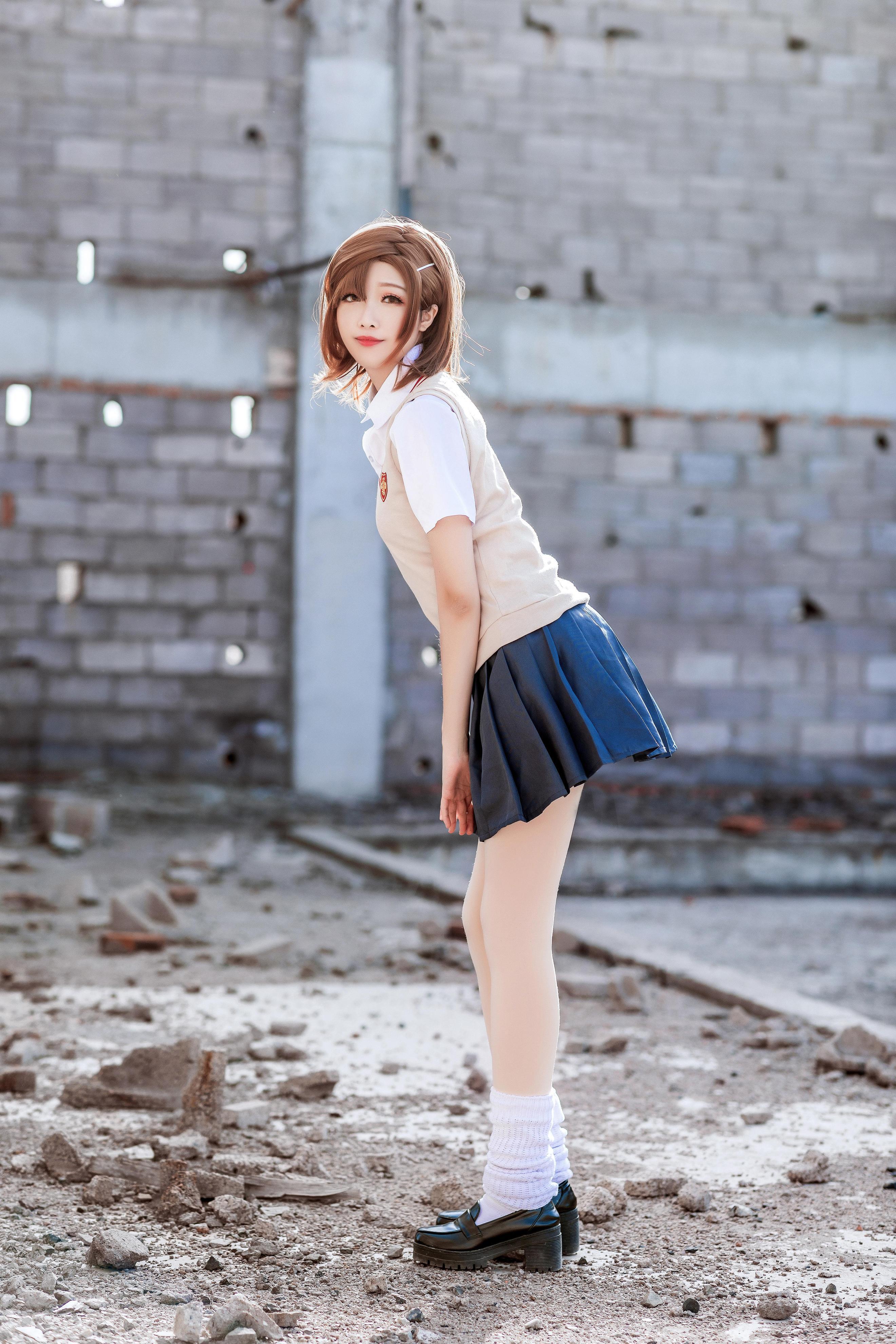 御坂美琴cosplay【CN:软糖甜吗甜吗甜吗】-第8张