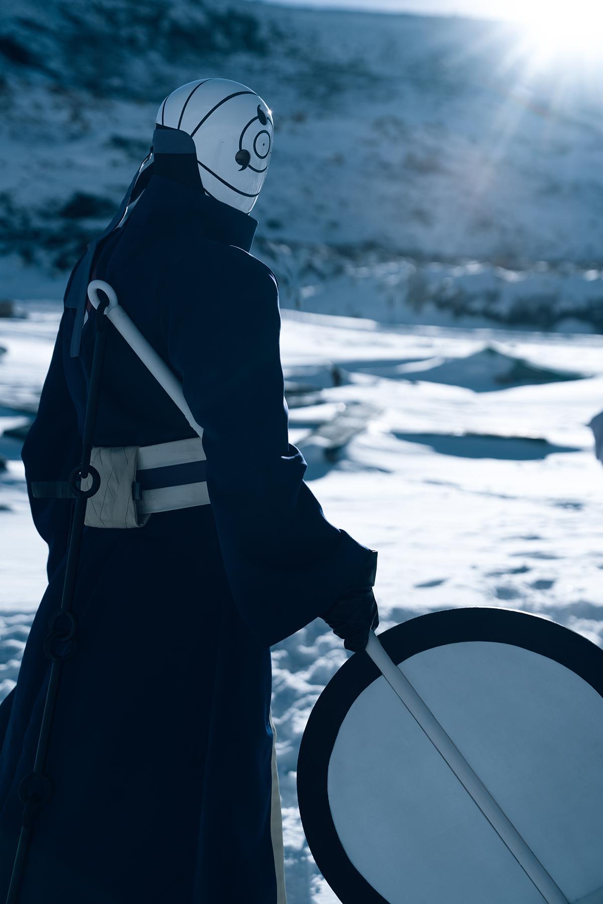 《火影忍者》宇智波带土cosplay【CN:纯白地狱】-第12张