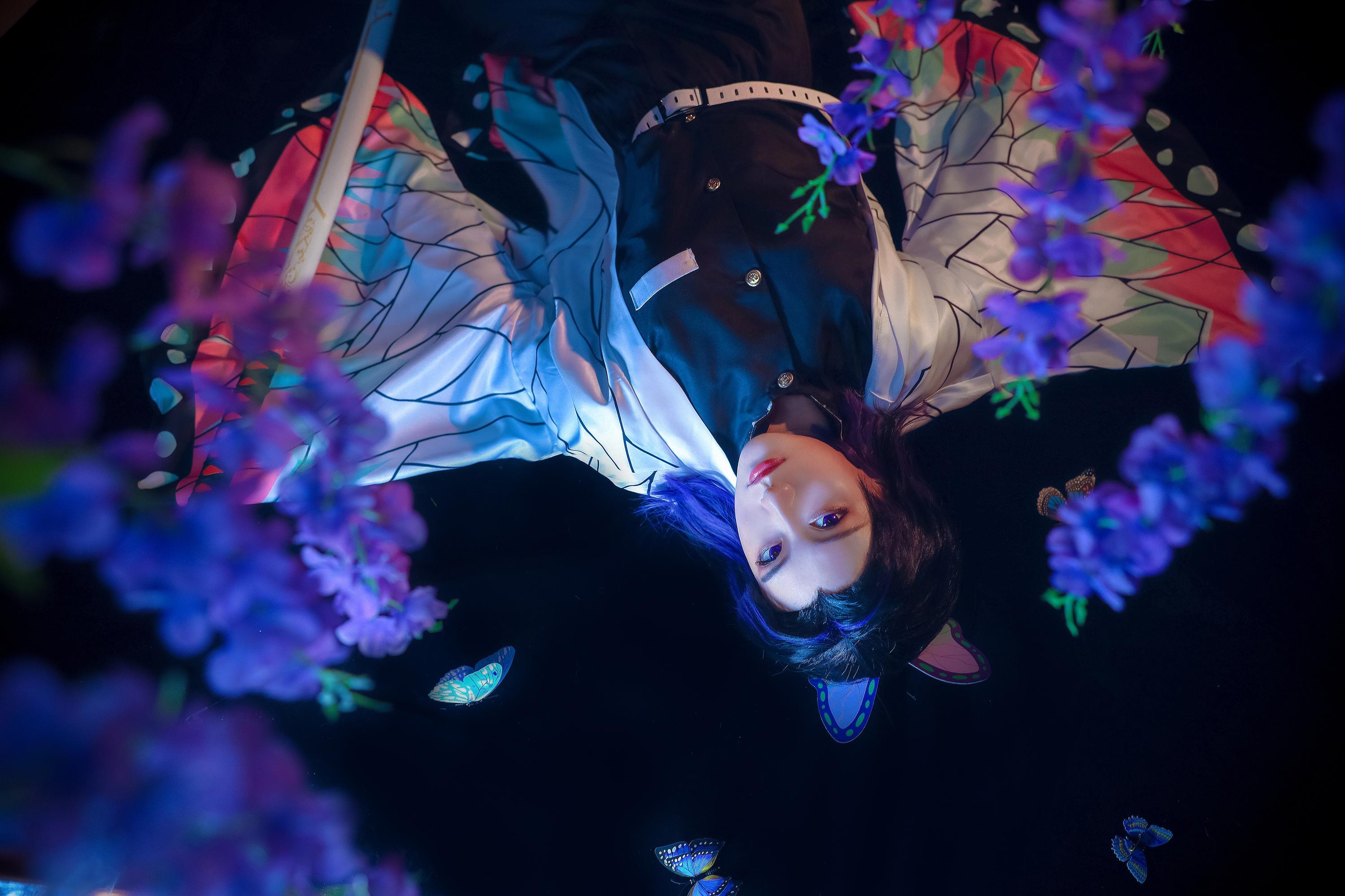 《鬼灭之刃》正片cosplay【CN:忘小忧_ya】 -cosplay美少女高清图片插图
