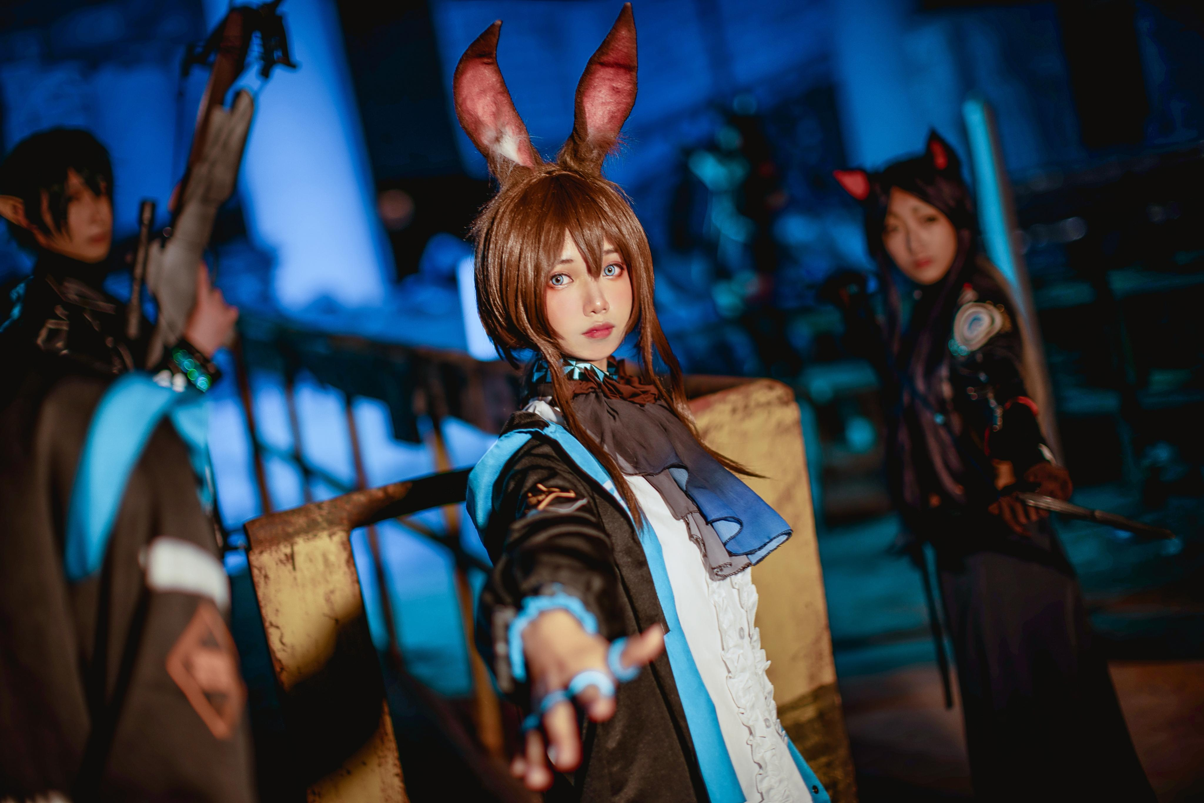 《明日方舟》正片cosplay【CN:零零零零零色】-第2张