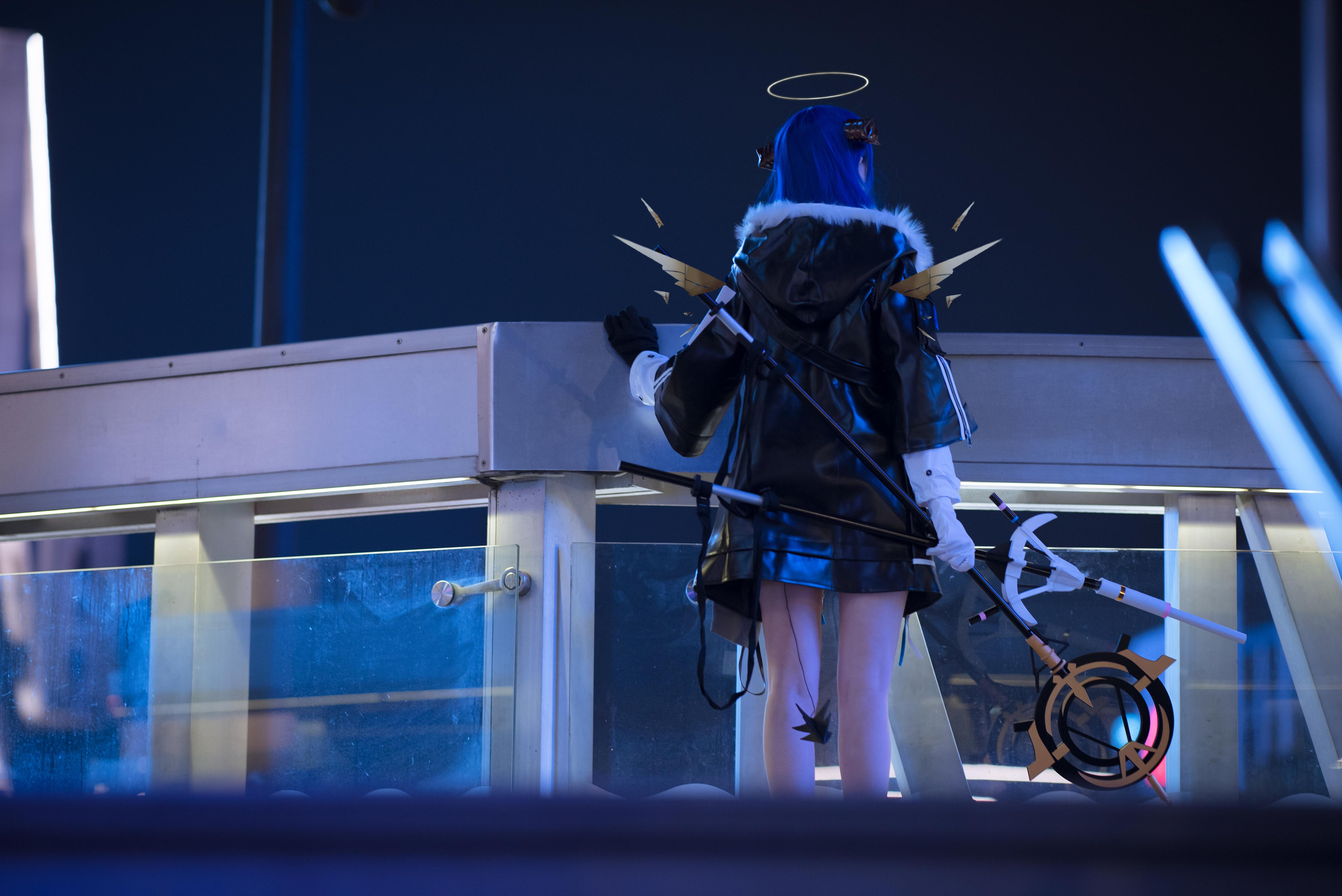 《明日方舟》法则cosplay【CN:KizunaFerin】-第16张