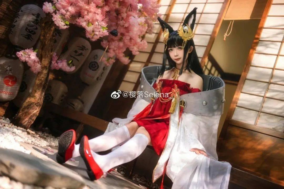 碧蓝航线COS长门【cn:樱落Selena_】 (7P)-第4张