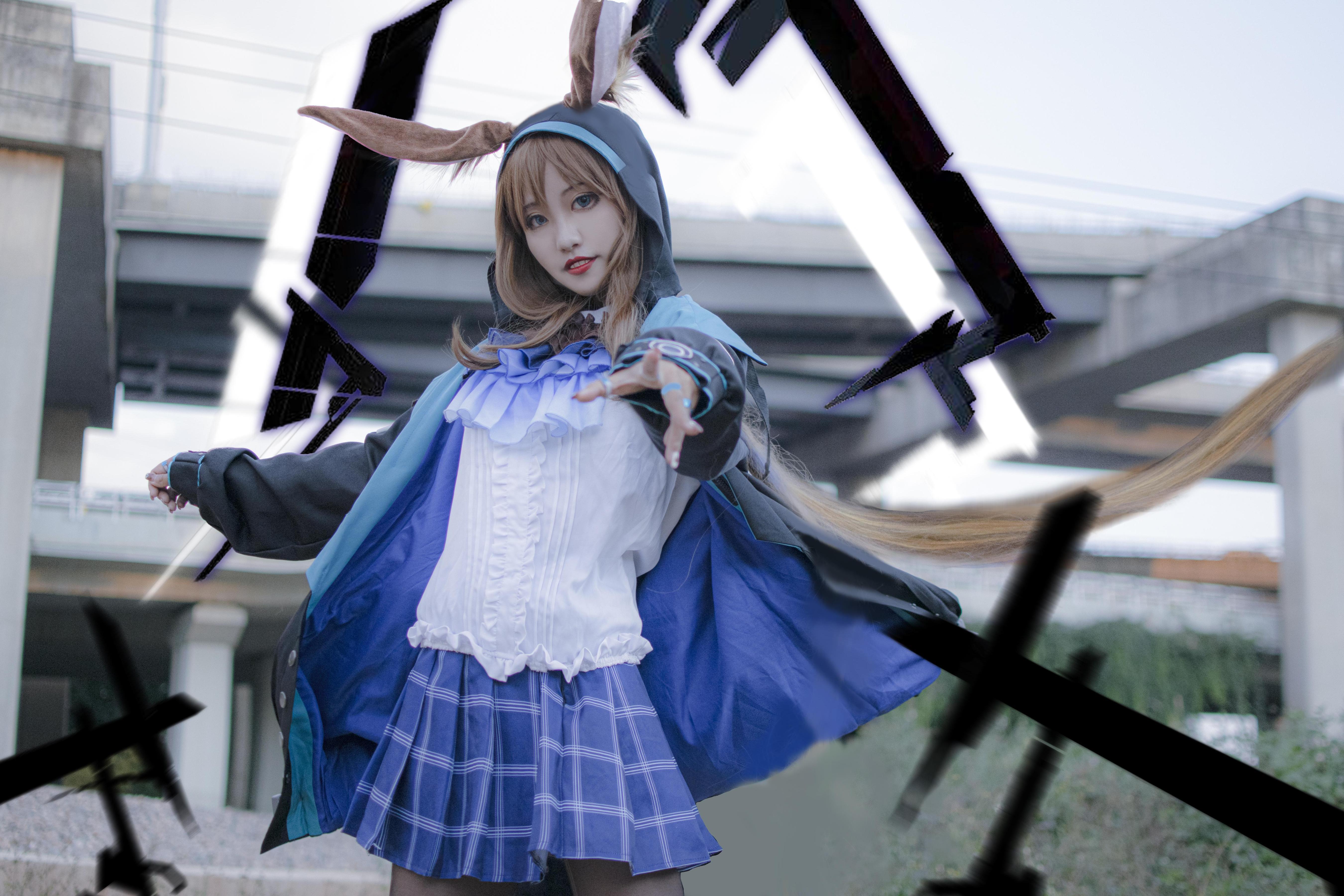 《明日方舟》明日方舟阿米娅cosplay【CN:_顾衍】-第6张