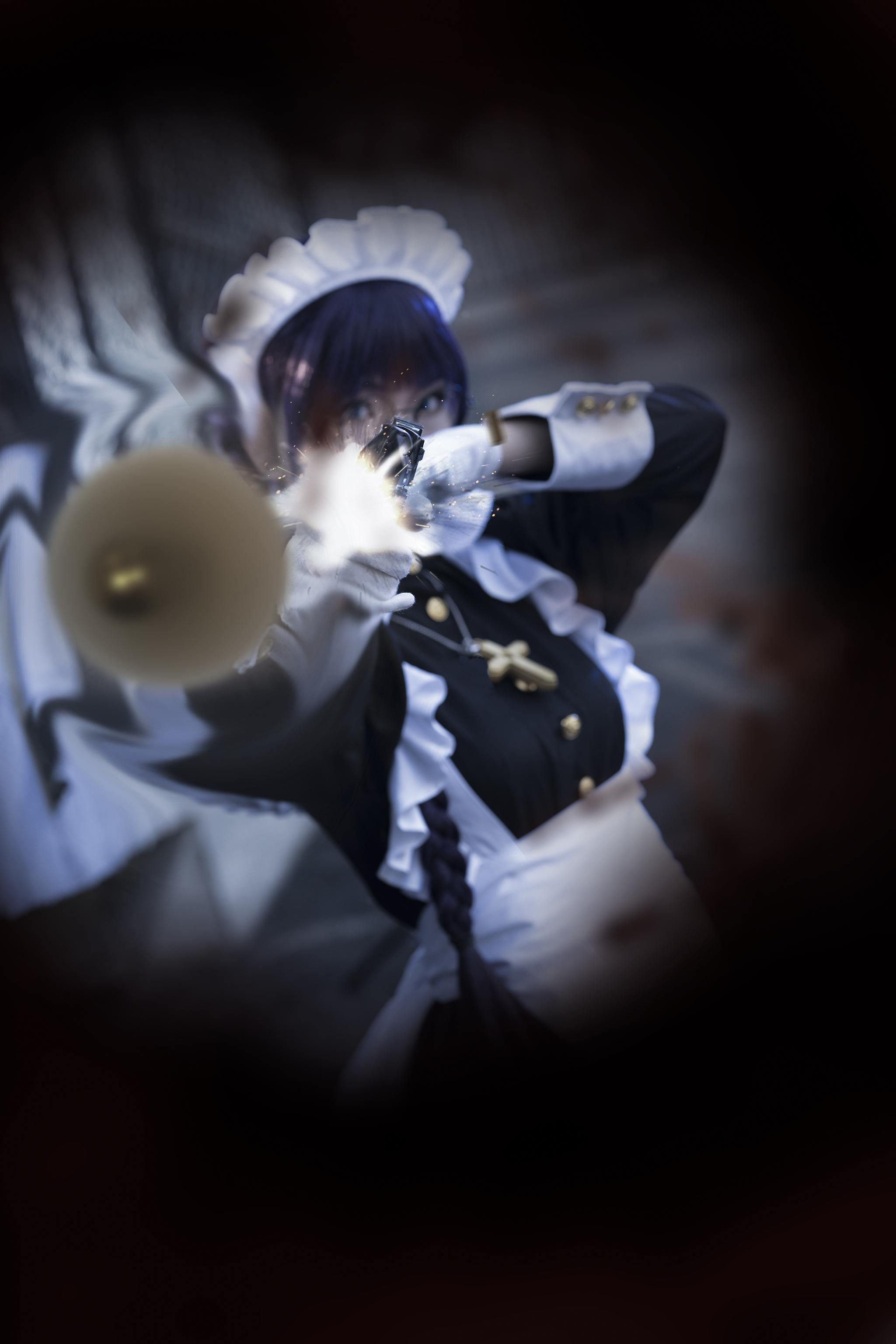 《黑礁》女仆cosplay【CN:纪沫2333】-第8张