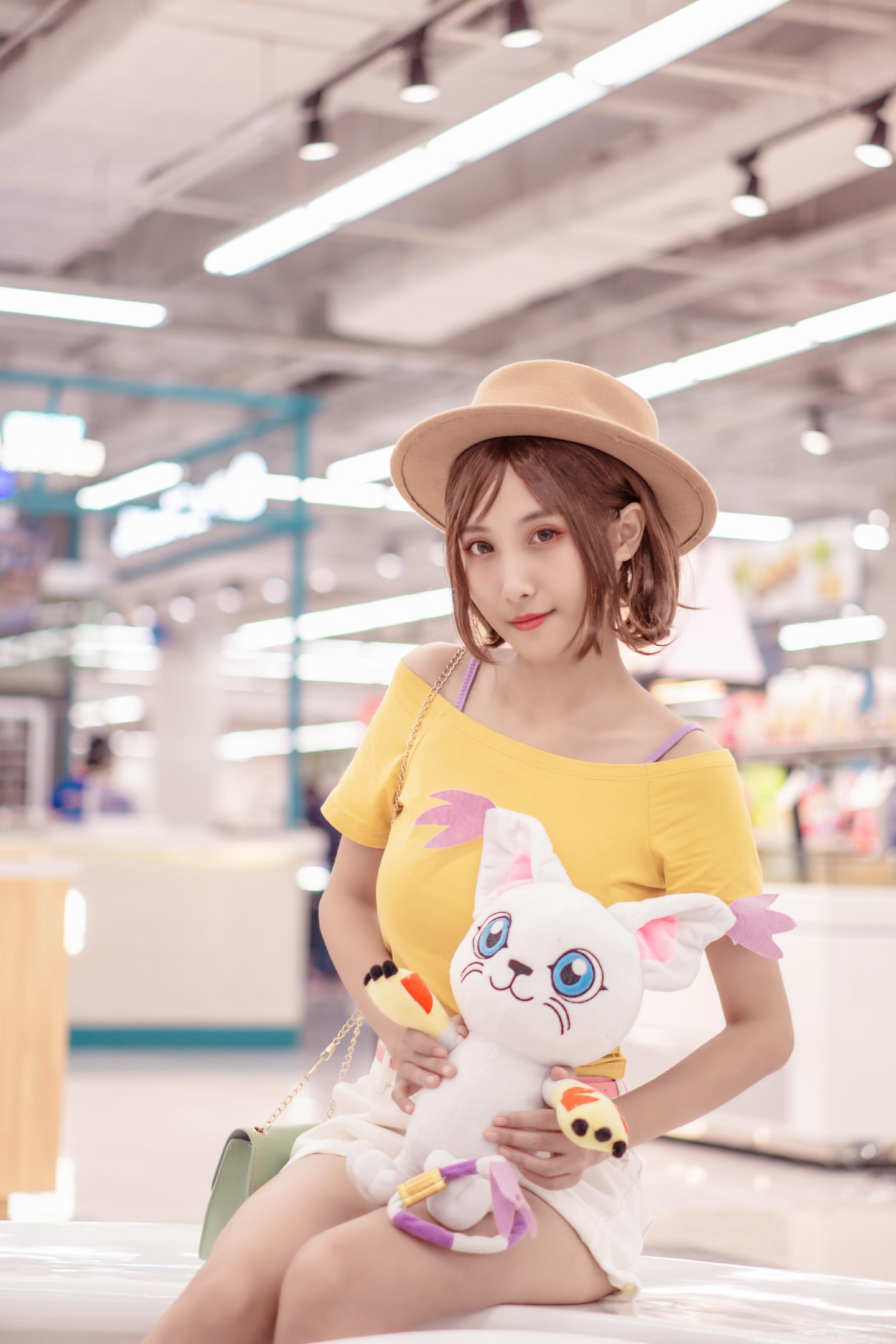 《数码宝贝》正片cosplay【CN:竹涧林洇】-第21张