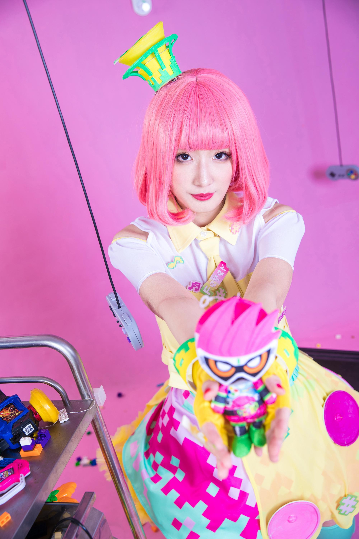 《假面骑士EX-AID》正片cosplay【CN:豆包Yunami】-第15张