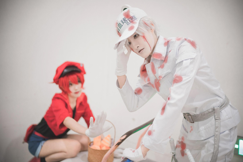 《工作细胞》红血球cosplay【CN:目害】 -cosplay公主服图片插图