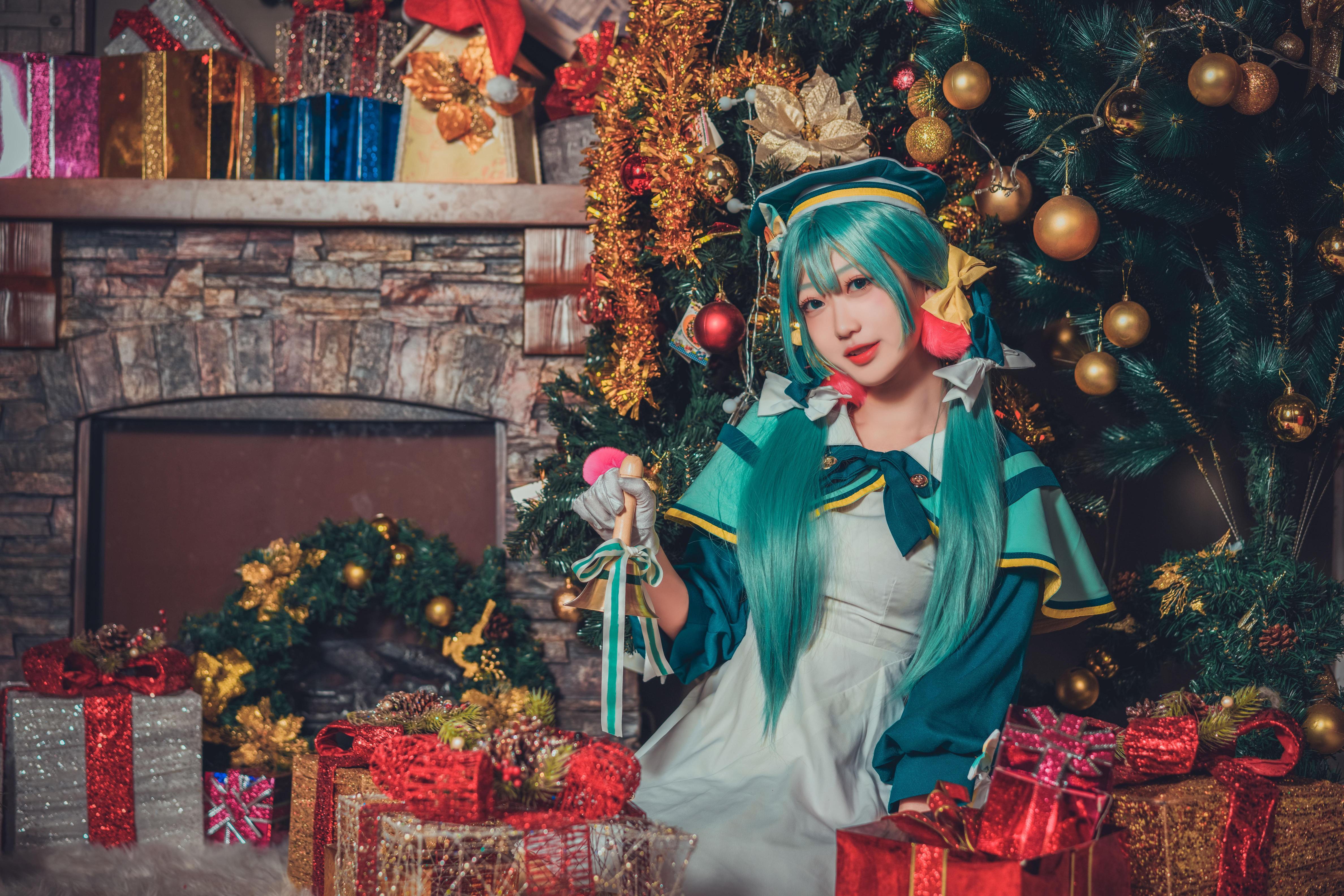 《VOCALOID》初音cosplay【CN:迟又mayoi】-第4张