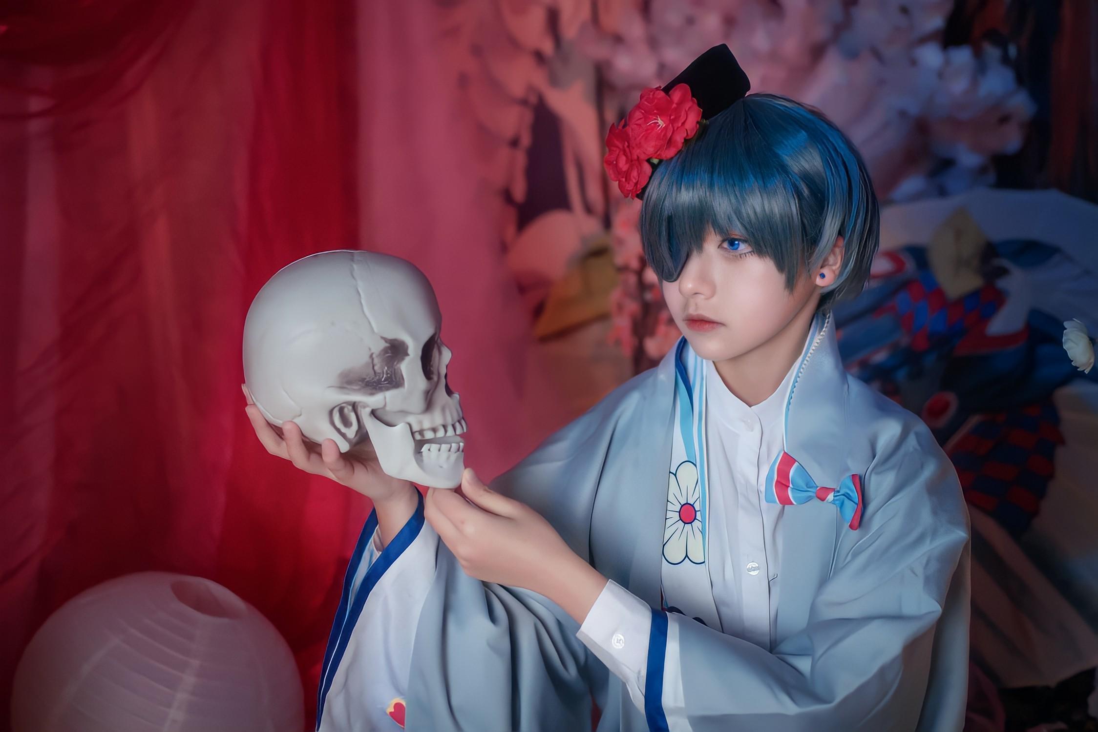 《黑执事》夏尔cosplay【CN:一点也不软的奶芙呀】-第6张