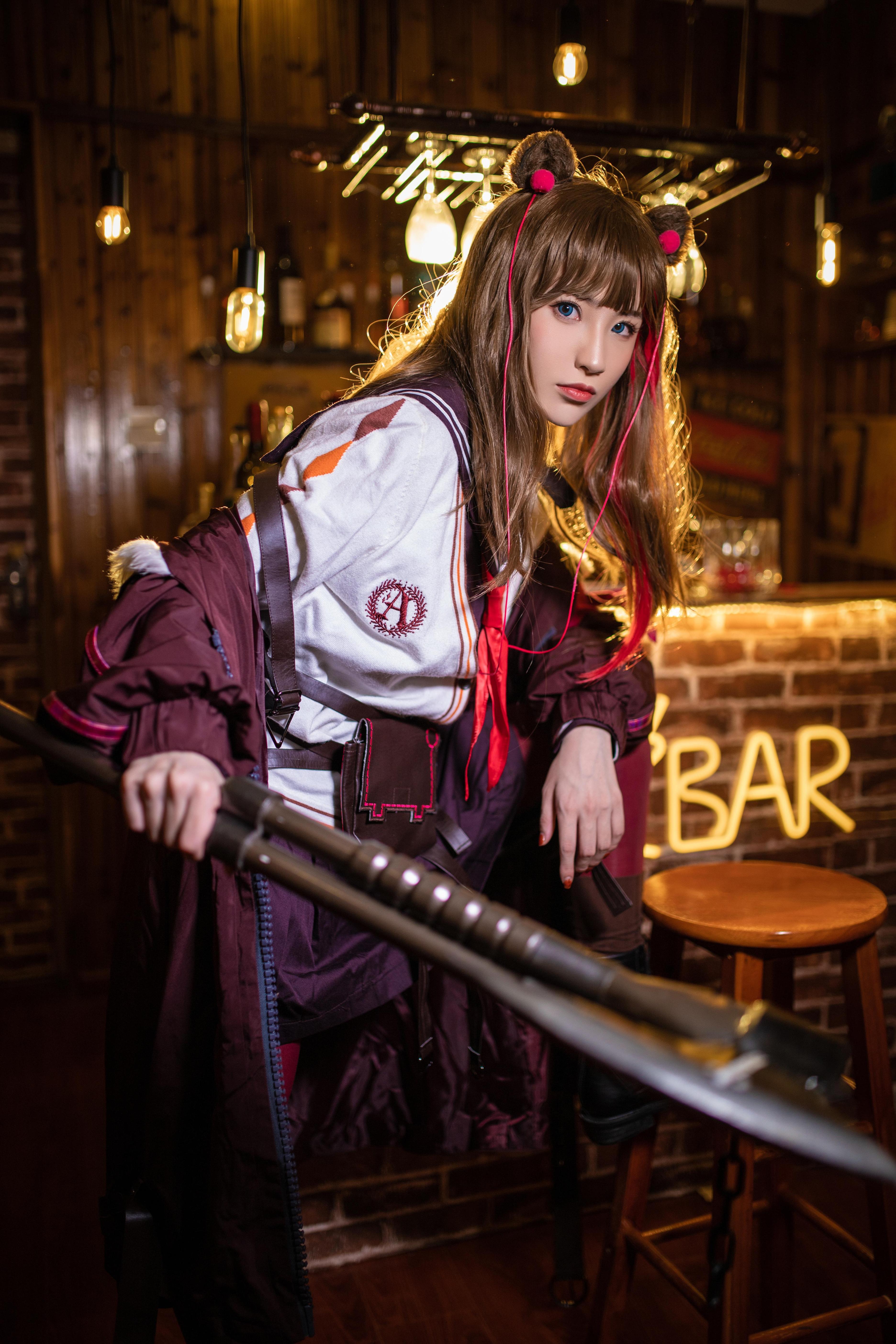 《明日方舟》正片cosplay【CN:北极毛豆】-第12张