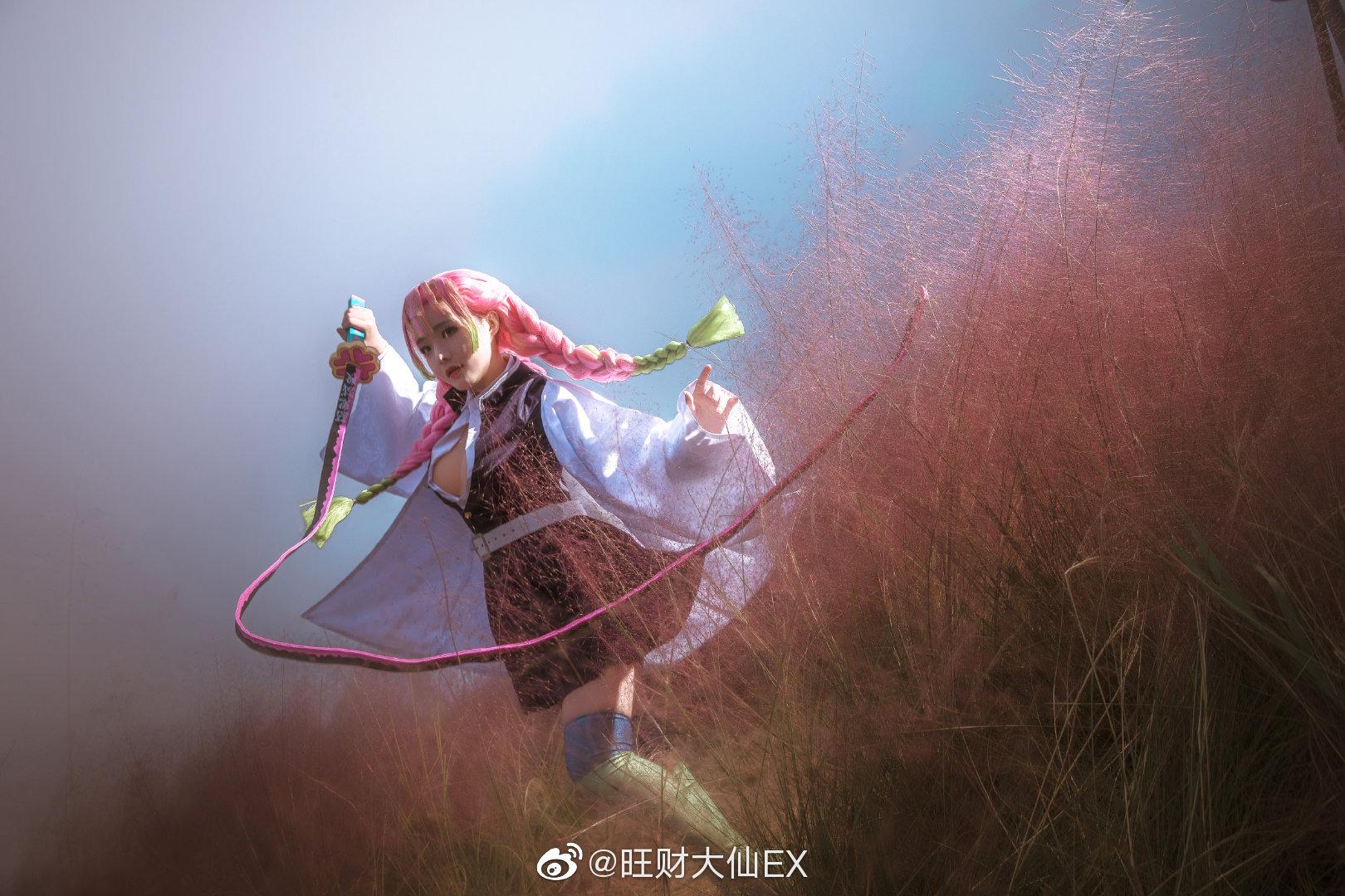 鬼灭之刃   甘露寺蜜璃   @旺财大仙EX (9P)-第9张