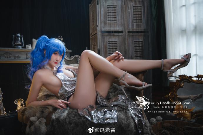 碧蓝航线   圣路易斯「Luxury Handle」   @瓜希酱 (9P)-第9张