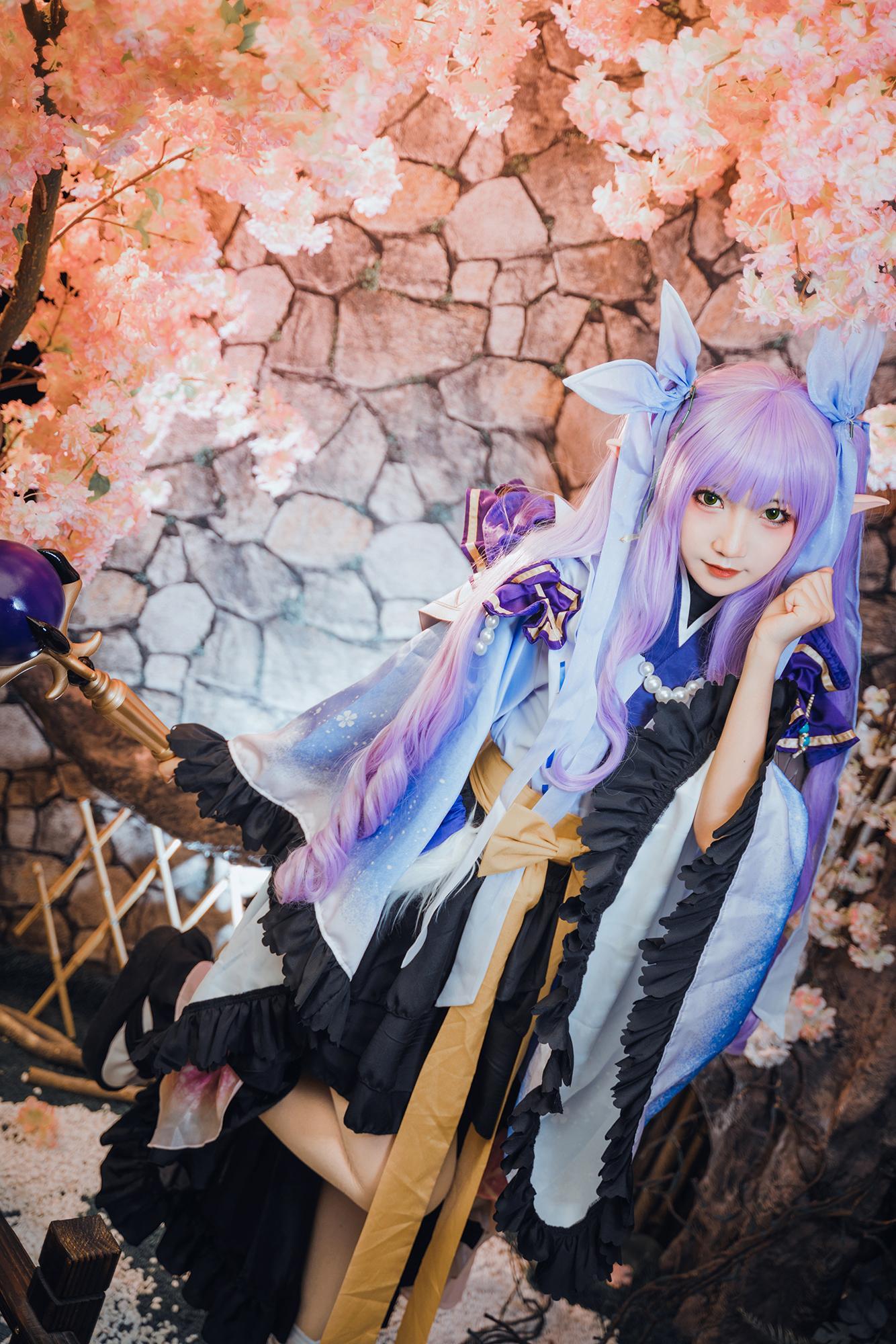 公主cosplay【CN:许多鱼鱼鱼】-第8张