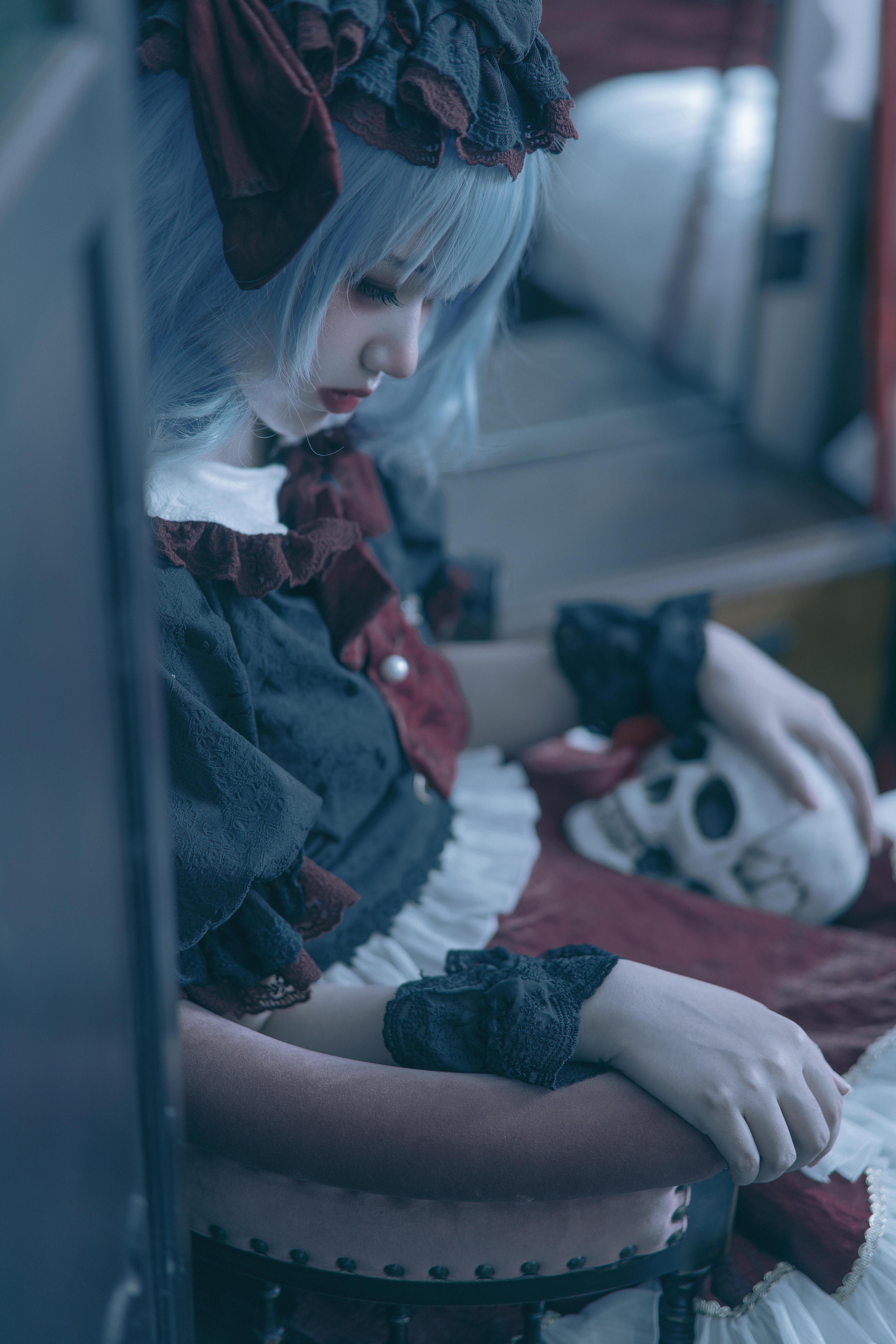 《东方PROJECT》蕾米莉亚cosplay【CN:我是谁你不想知道】-第2张