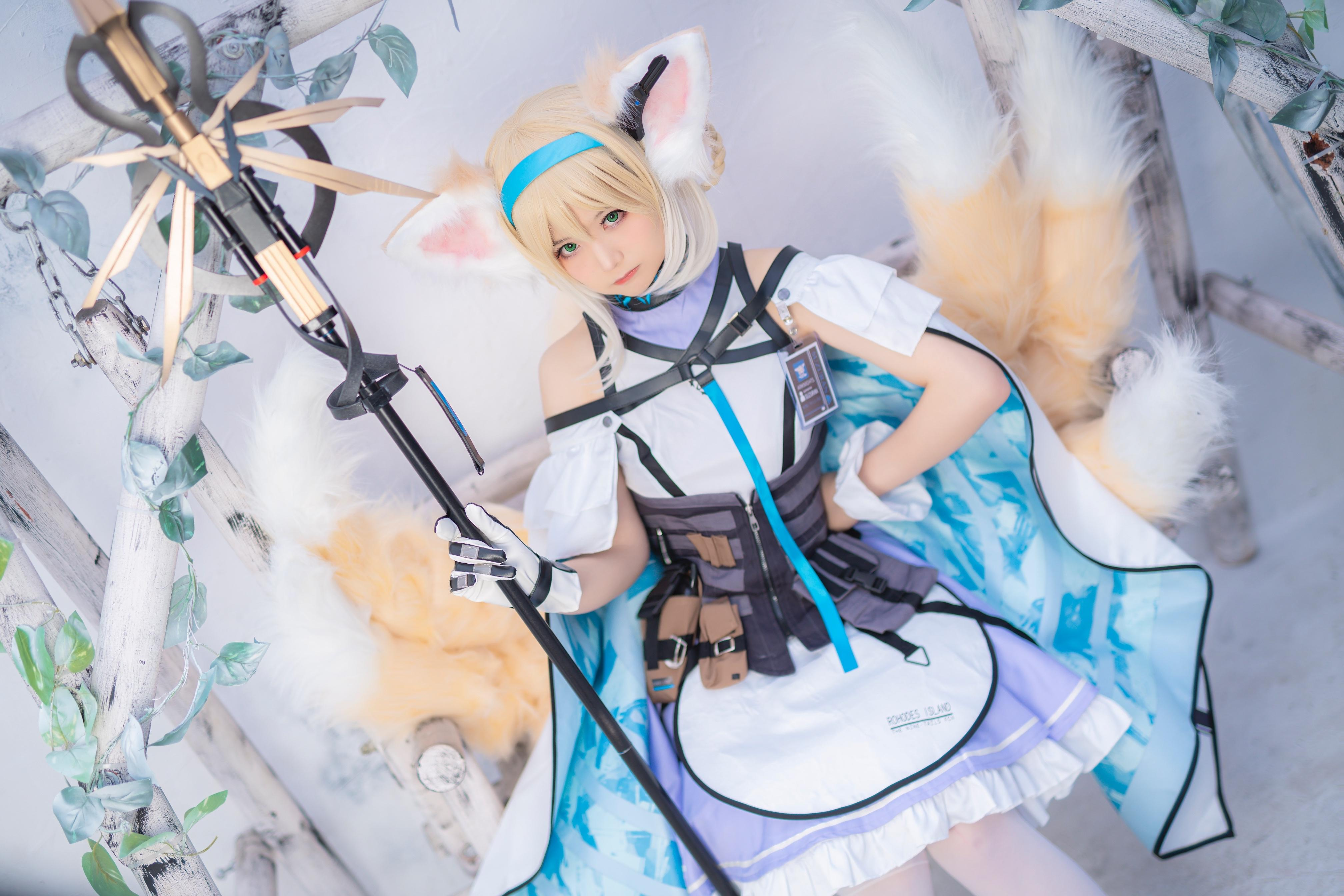 《明日方舟》正片cosplay【CN:roka様】-第9张