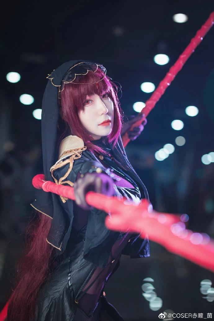 Fate/Grand Order   斯卡哈   @COSER赤瞳_菌 (9P)-第6张