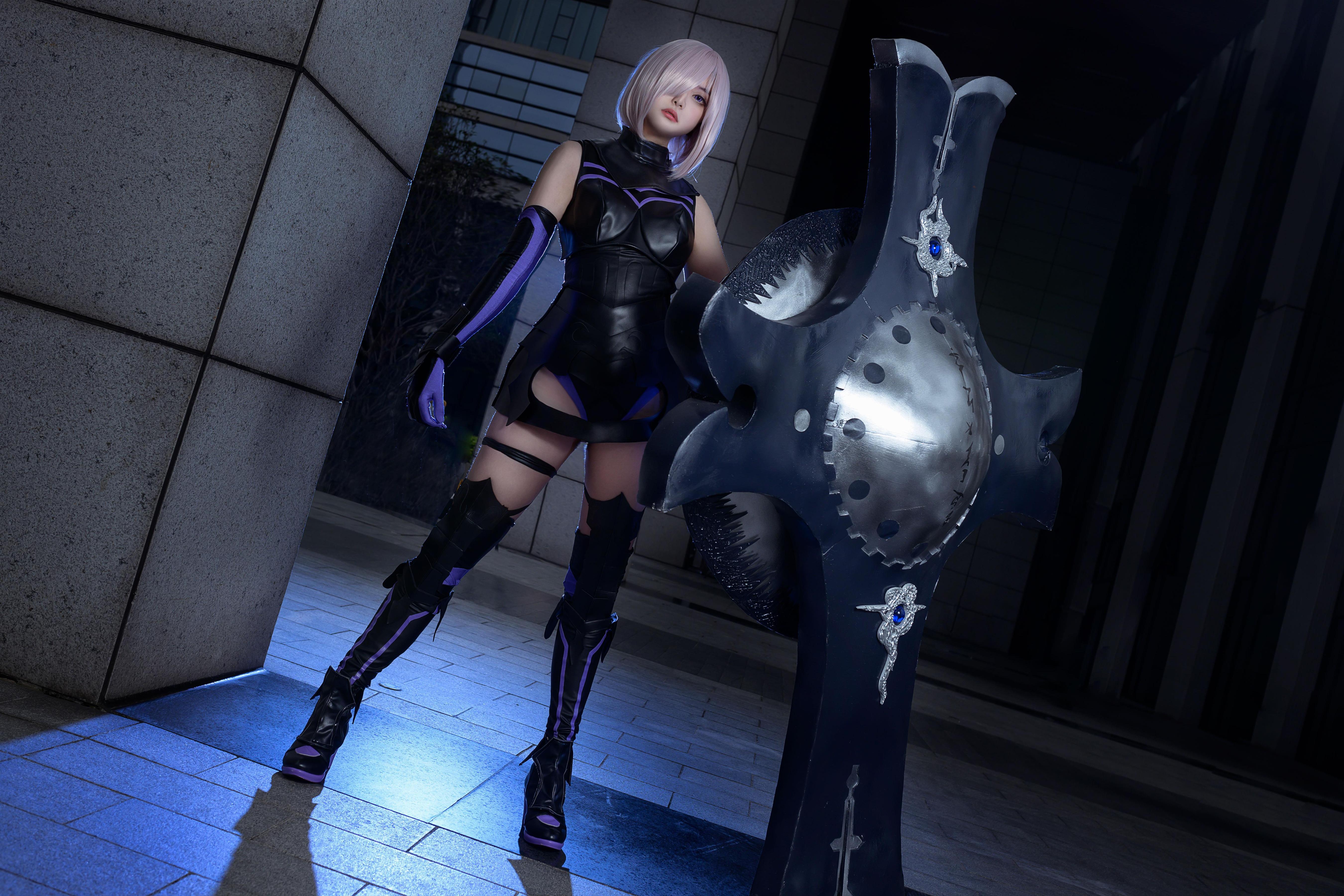 《FATE/GRAND ORDER》漫展cosplay【CN:千代紙Stella】-第4张