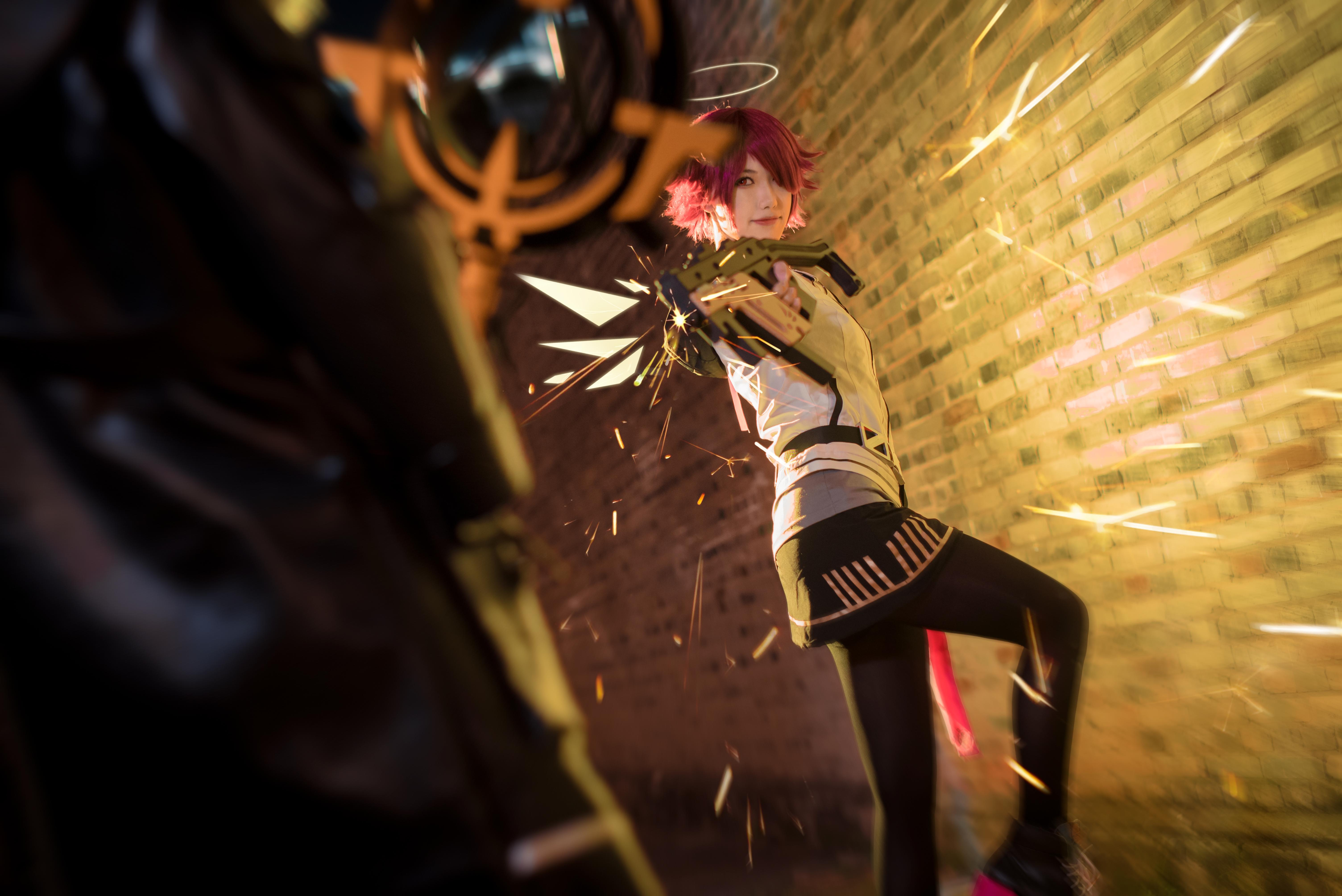 《明日方舟》法则cosplay【CN:KizunaFerin】-第37张