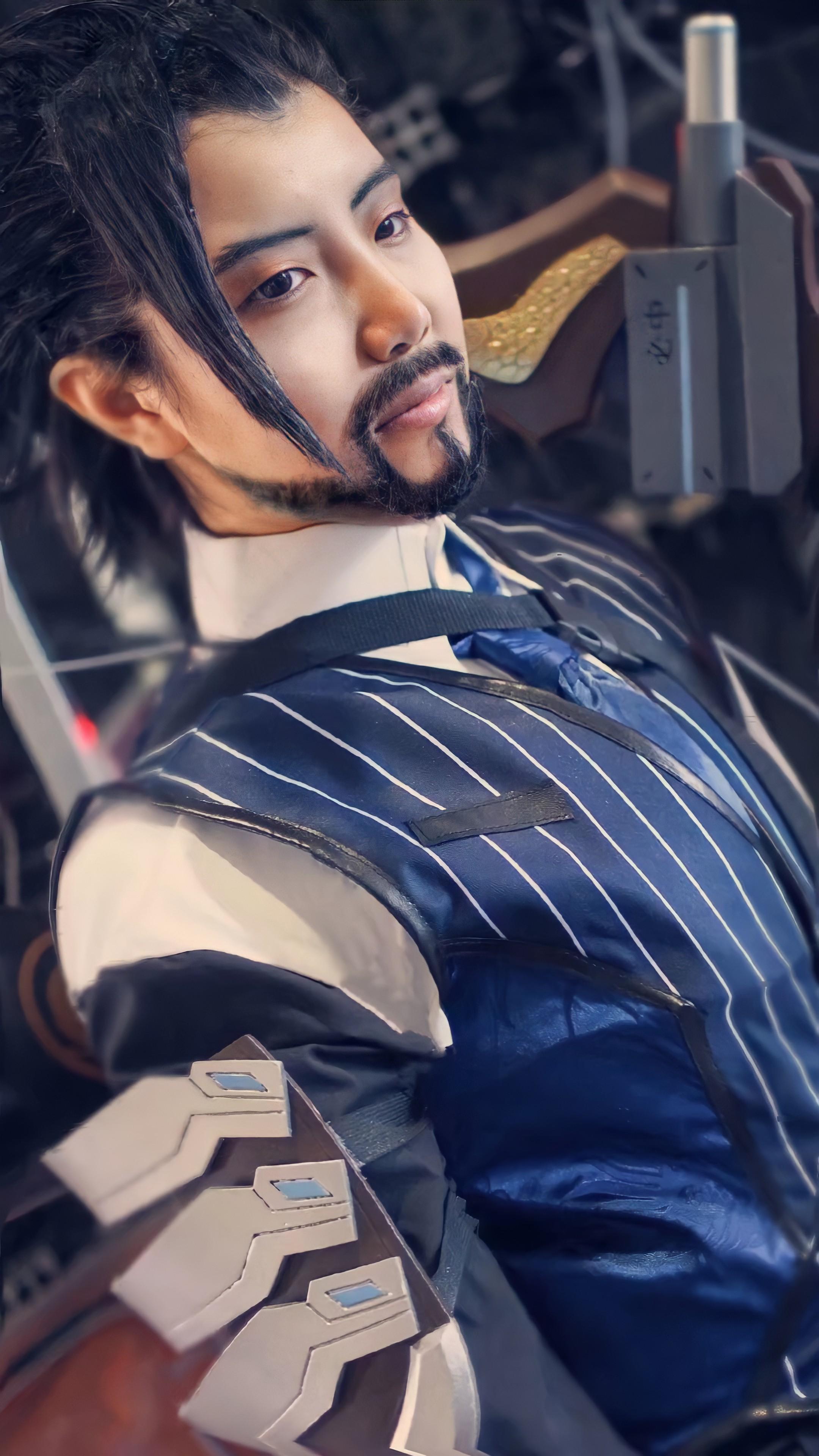 《JOJO的奇妙冒险》守望先锋cosplay【CN:瞎尸】-第4张
