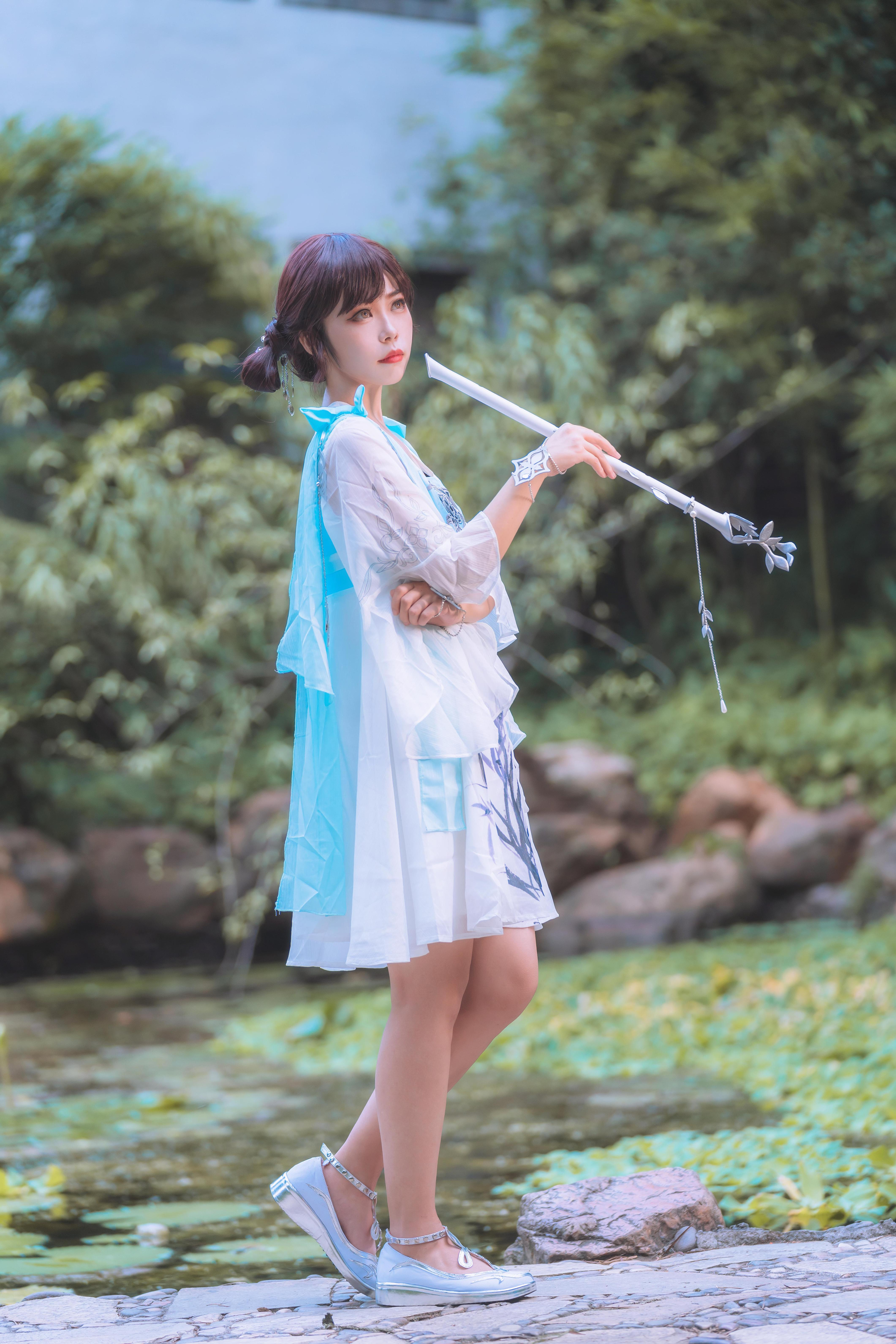 天涯明月刀cosplay【CN:阿瑾十三】-第4张