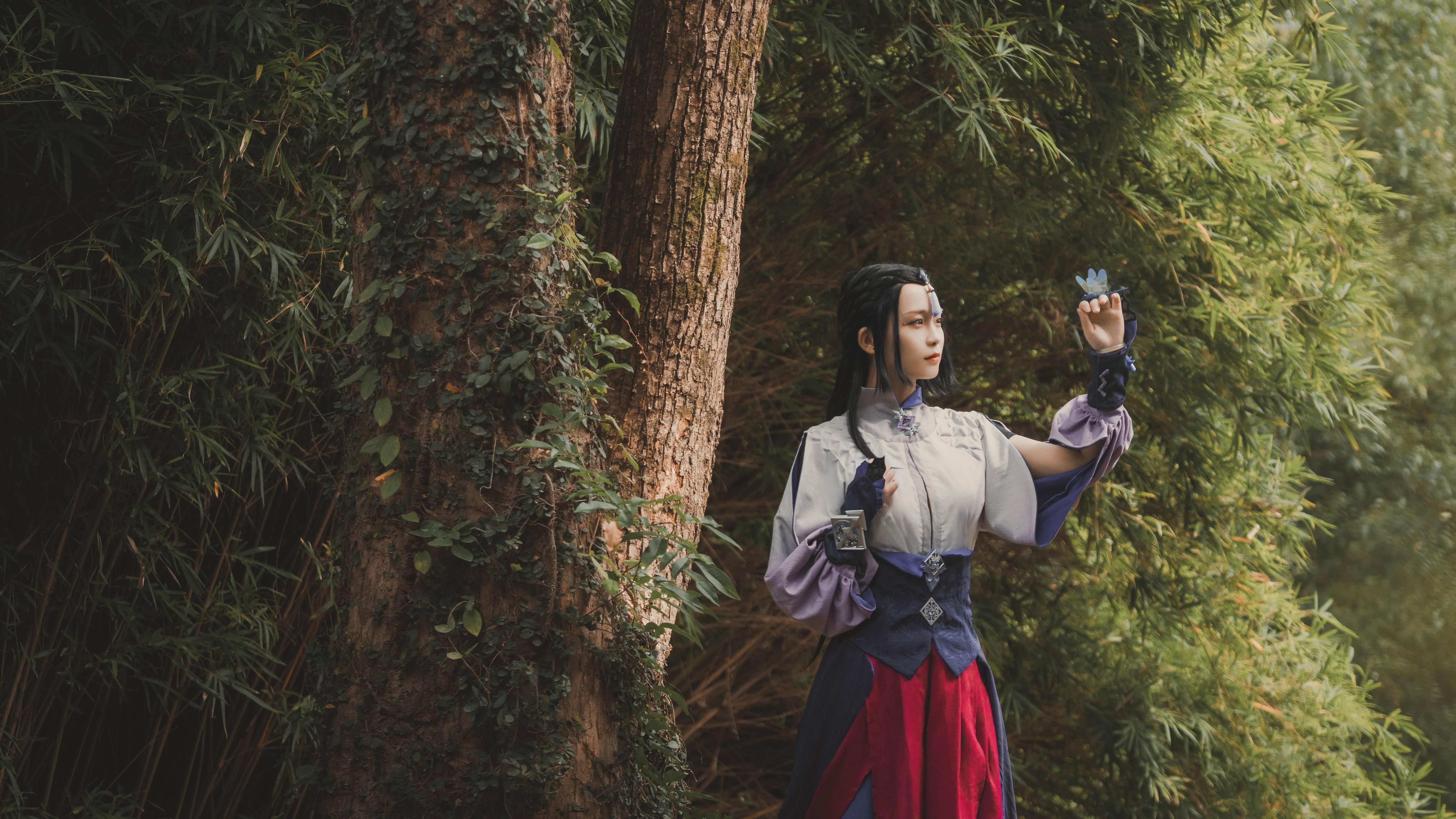 《古剑奇谭三》云无月cosplay【CN:阿聿空空_Aoi】-第6张