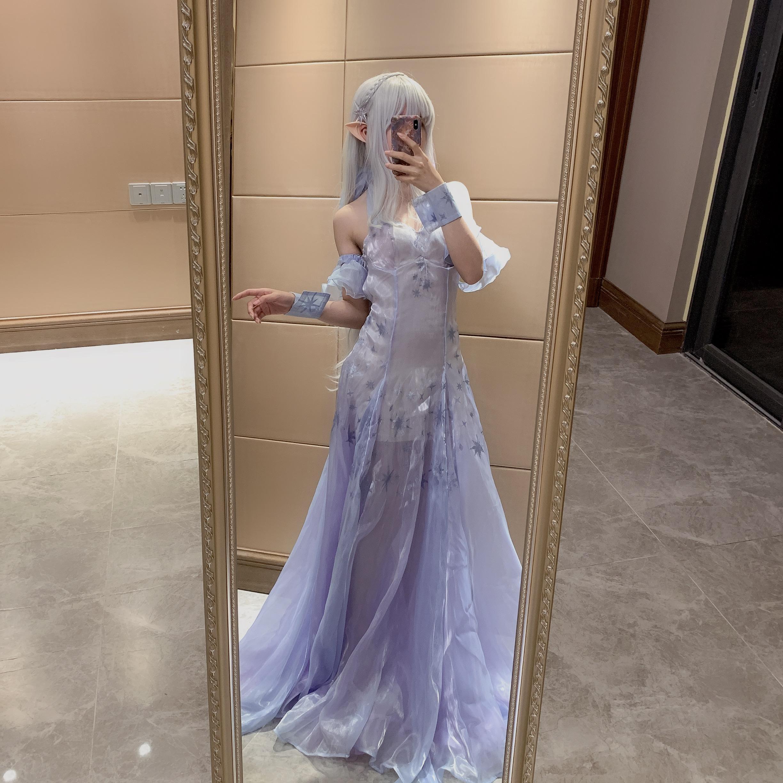 《RE:从零开始的异世界生活》艾米莉亚cosplay【CN:Rin__】-第4张