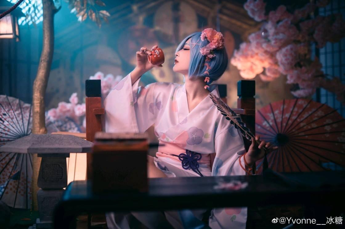 《Re:从零开始的异世界生活》蕾姆COS图【CN:Yvonne__冰糖】 (9P)-第9张