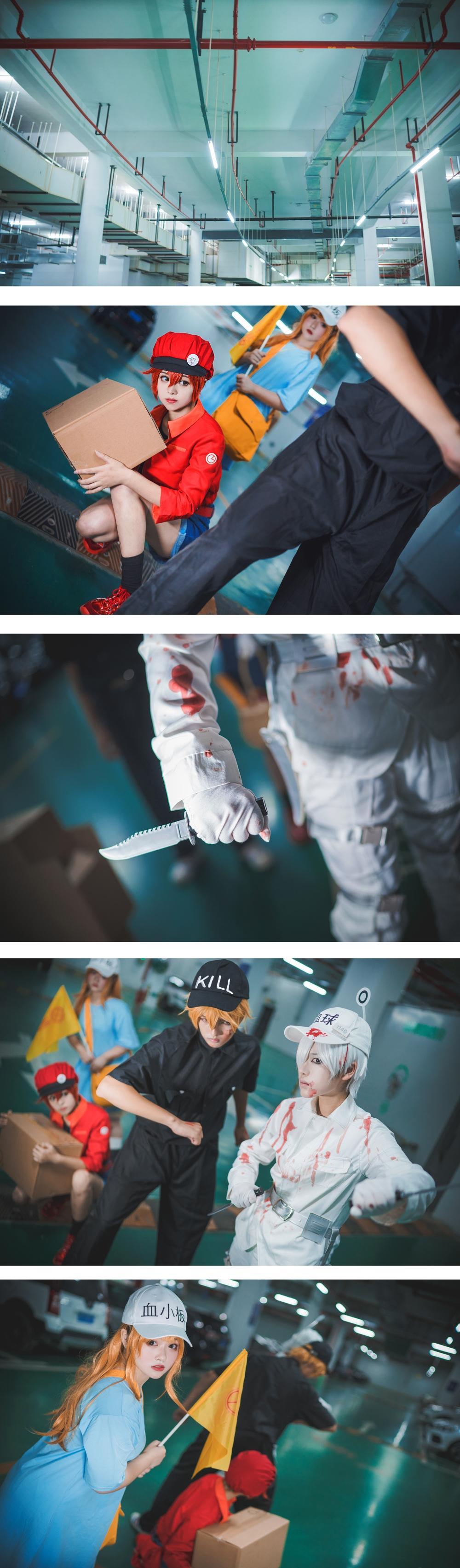 《工作细胞》正片cosplay【CN:枫鵺rain】-第11张